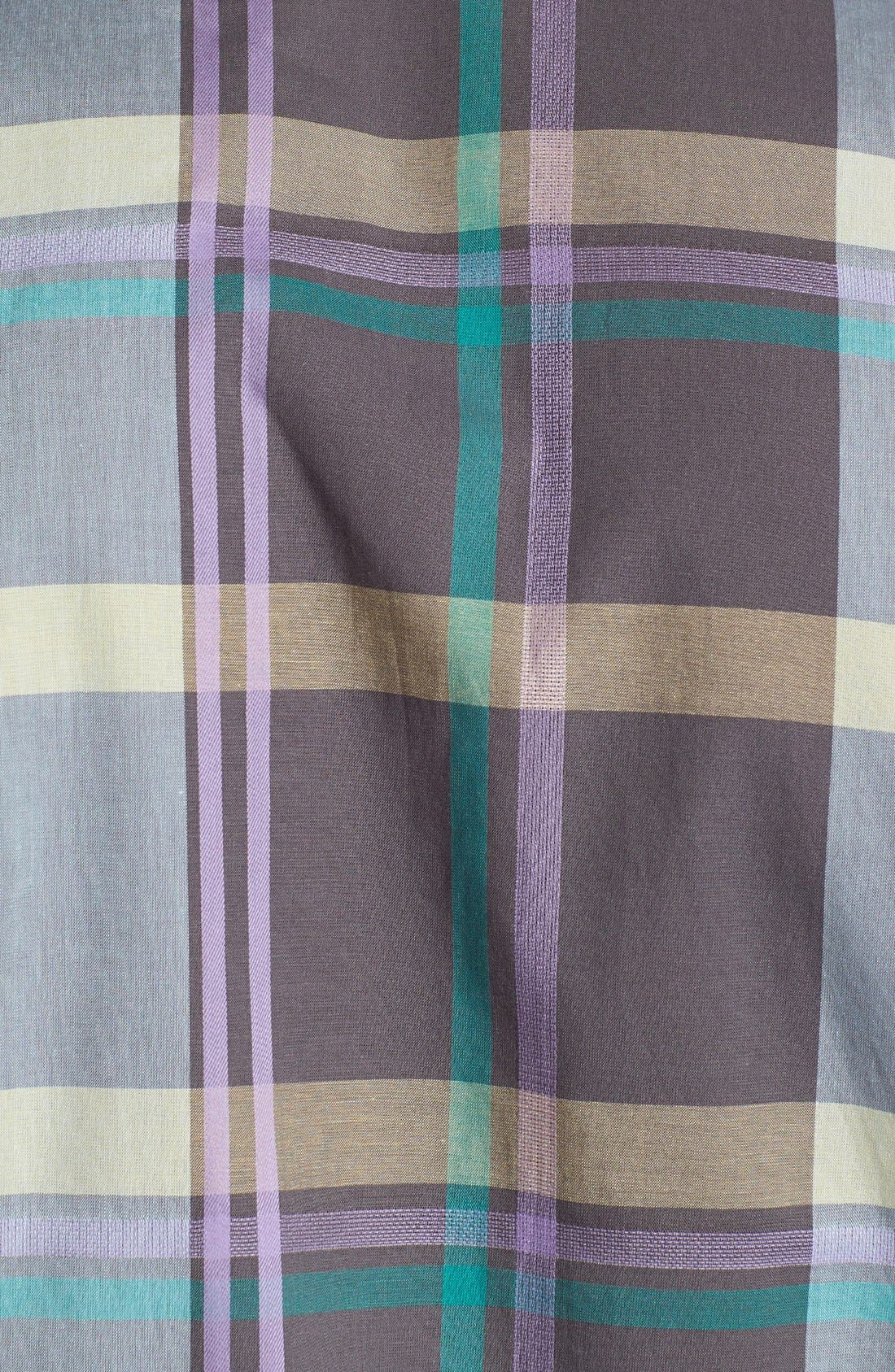 Alternate Image 2  - Ben Sherman Plaid Short Sleeve Woven Shirt
