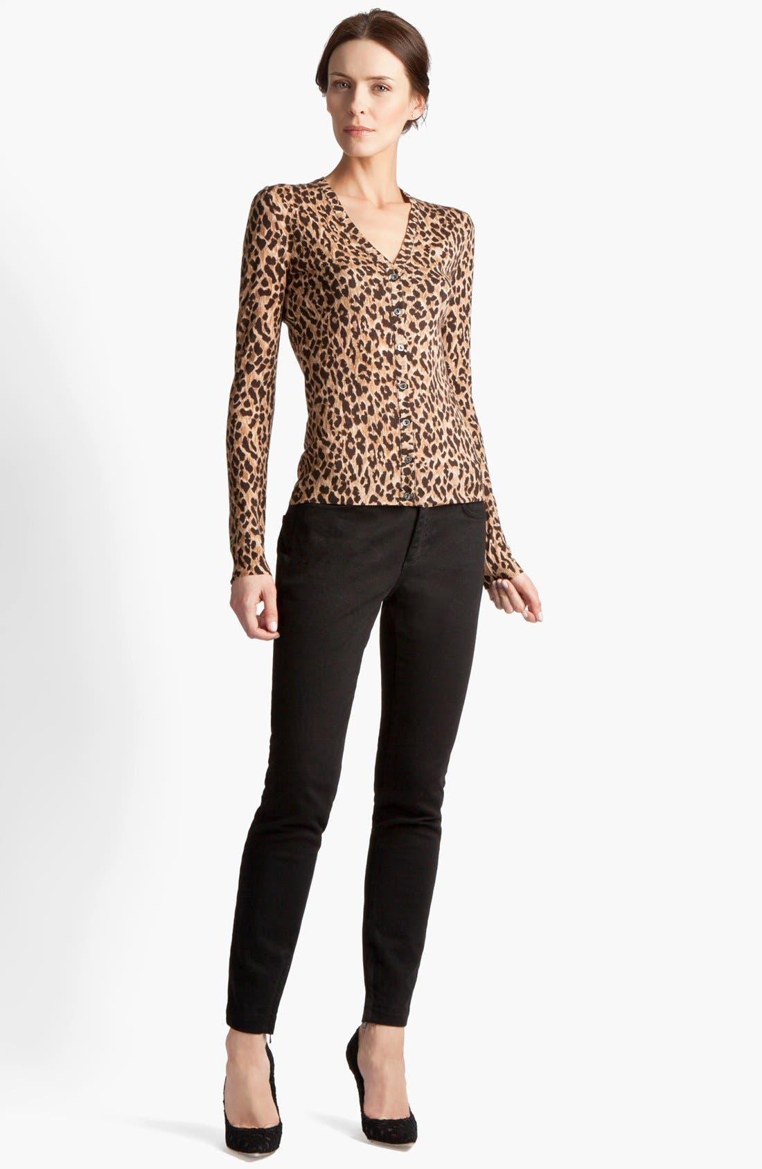 Main Image - Dolce&Gabbana Extra Fine Wool Cardigan