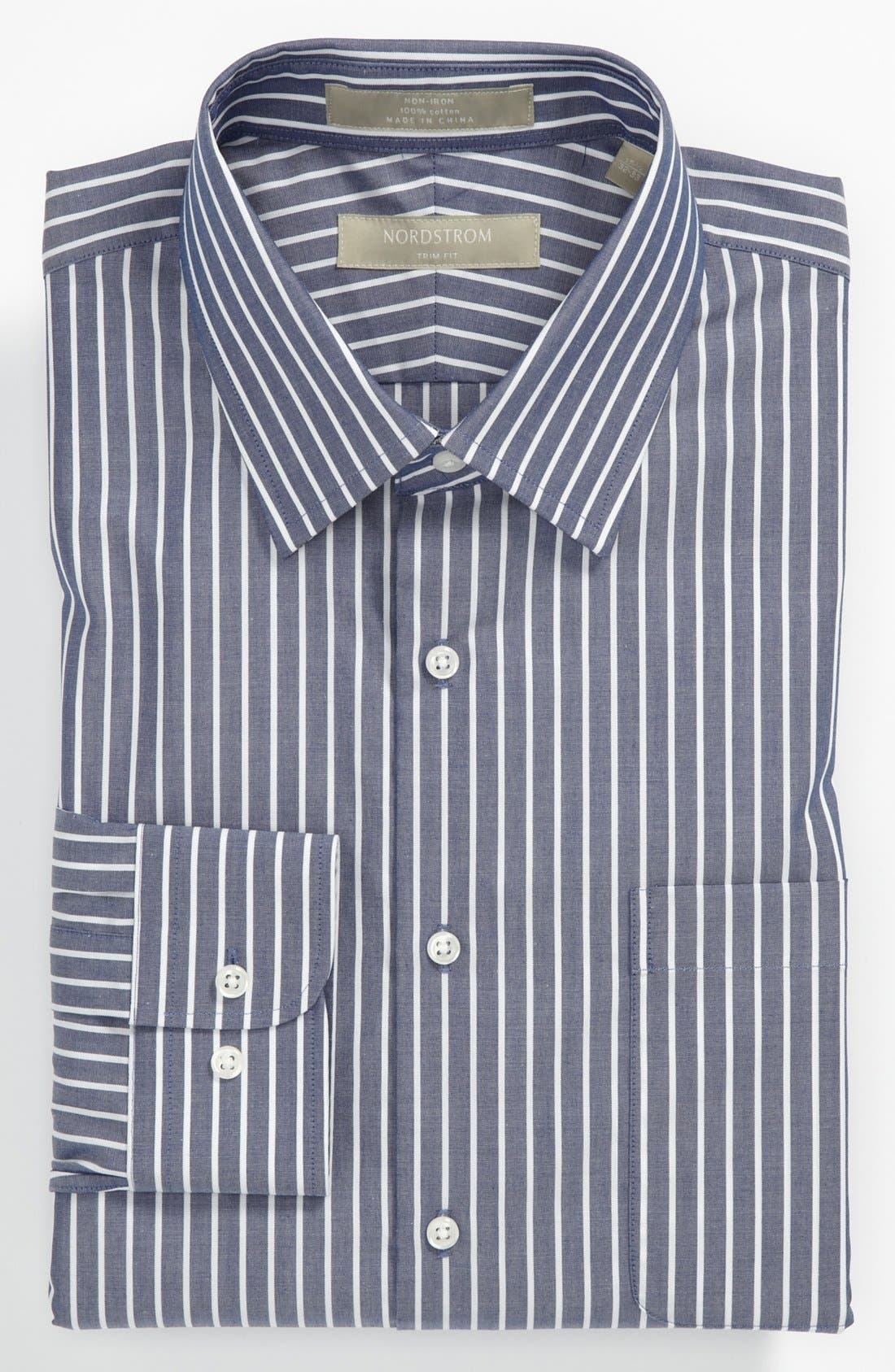 Alternate Image 1 Selected - Nordstrom Trim Fit Dress Shirt