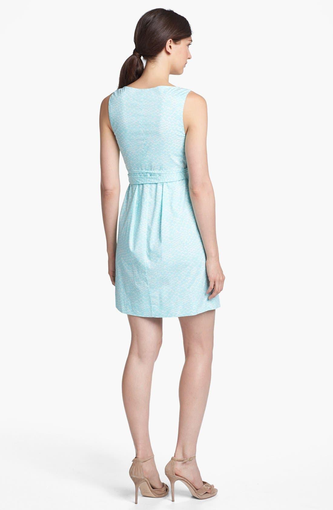Alternate Image 2  - Diane von Furstenberg 'Carol' Cotton Wrap Minidress
