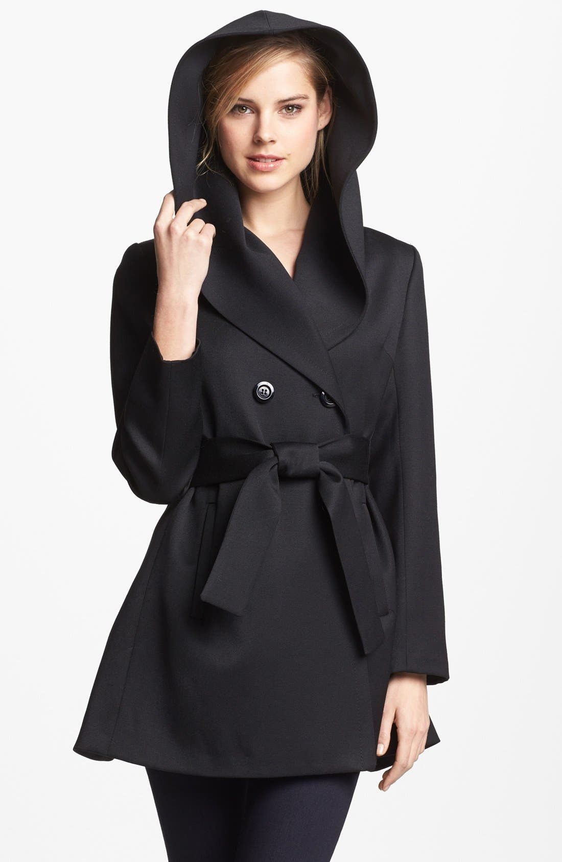 Alternate Image 2  - Trina Turk 'Ali' Gabardine Wrap Coat