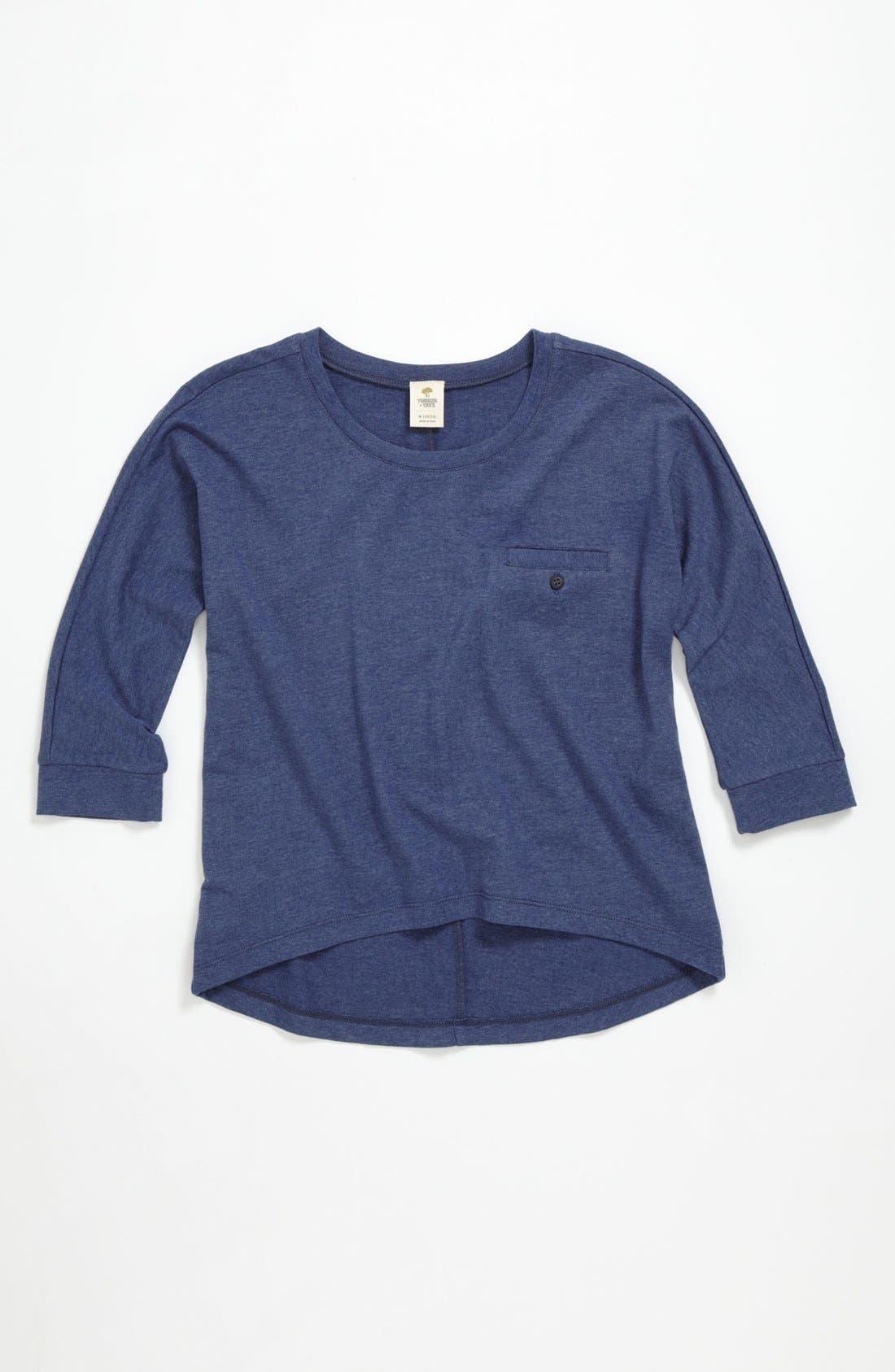 Alternate Image 1 Selected - Tucker + Tate 'Gena' Knit Top (Big Girls)