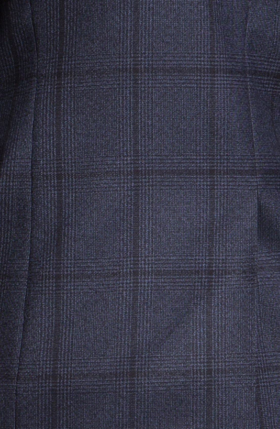 Alternate Image 3  - Paul Smith London Slim Fit Windowpane Plaid Sportcoat