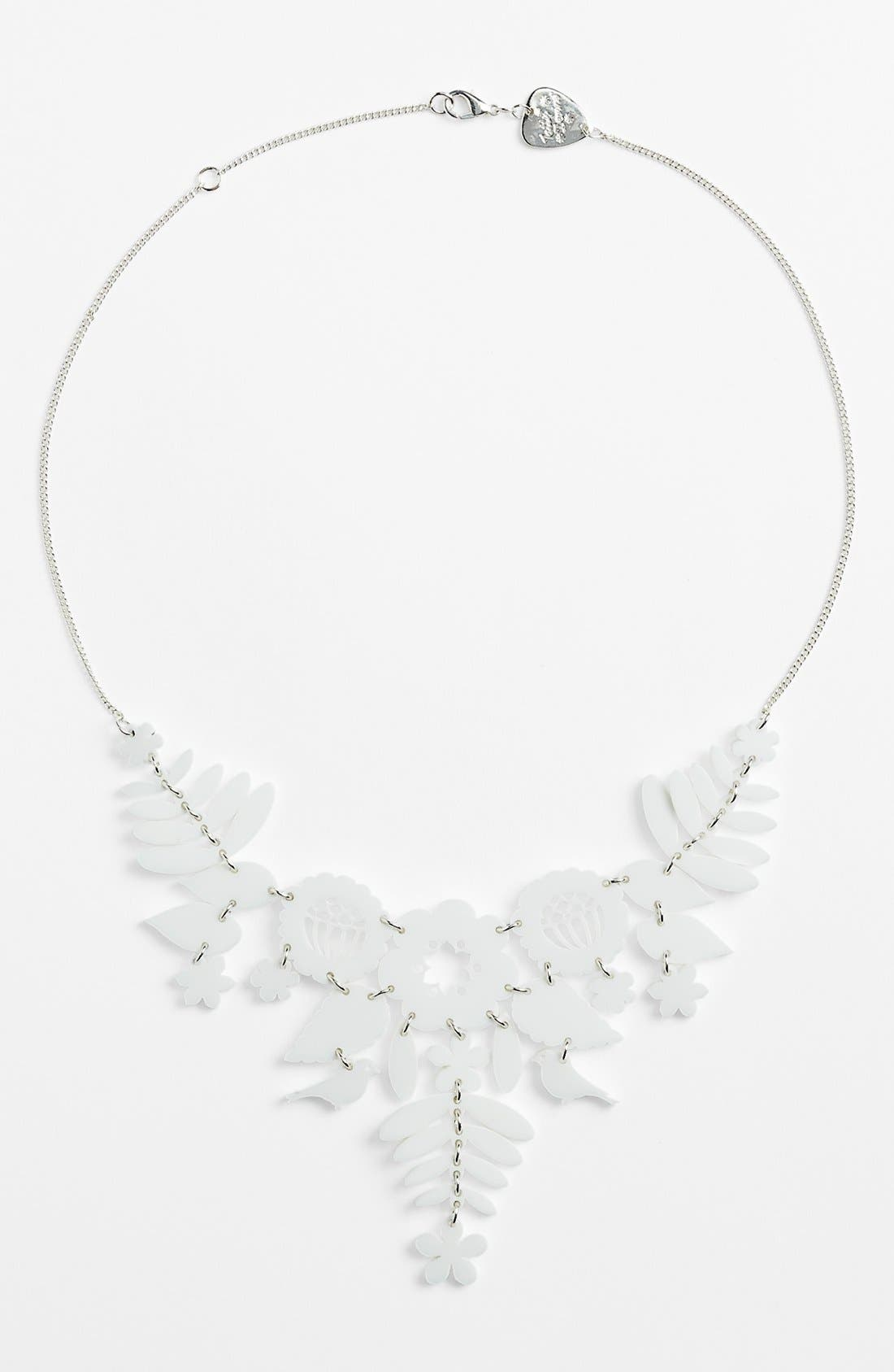 Alternate Image 1 Selected - Tatty Devine 'Mexican Embroidery' Statement Necklace