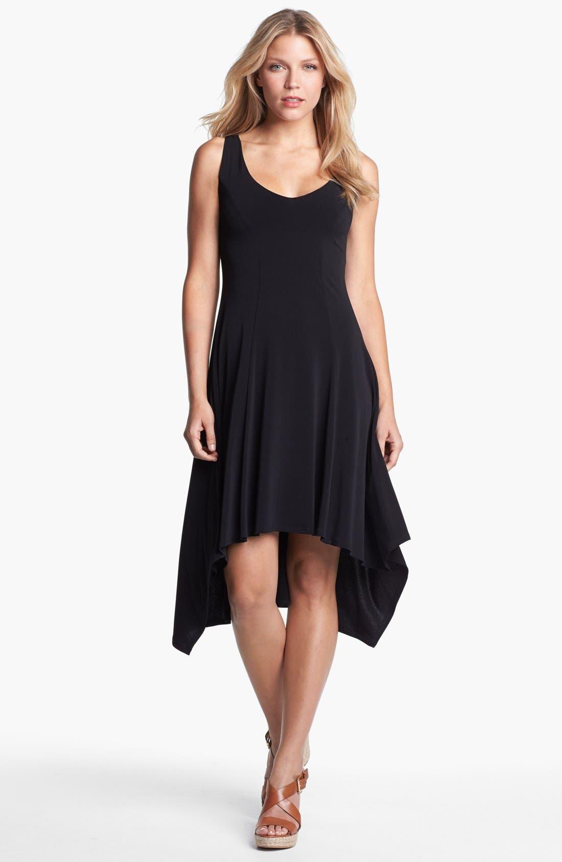 Main Image - Karen Kane V-Neck High/Low Dress