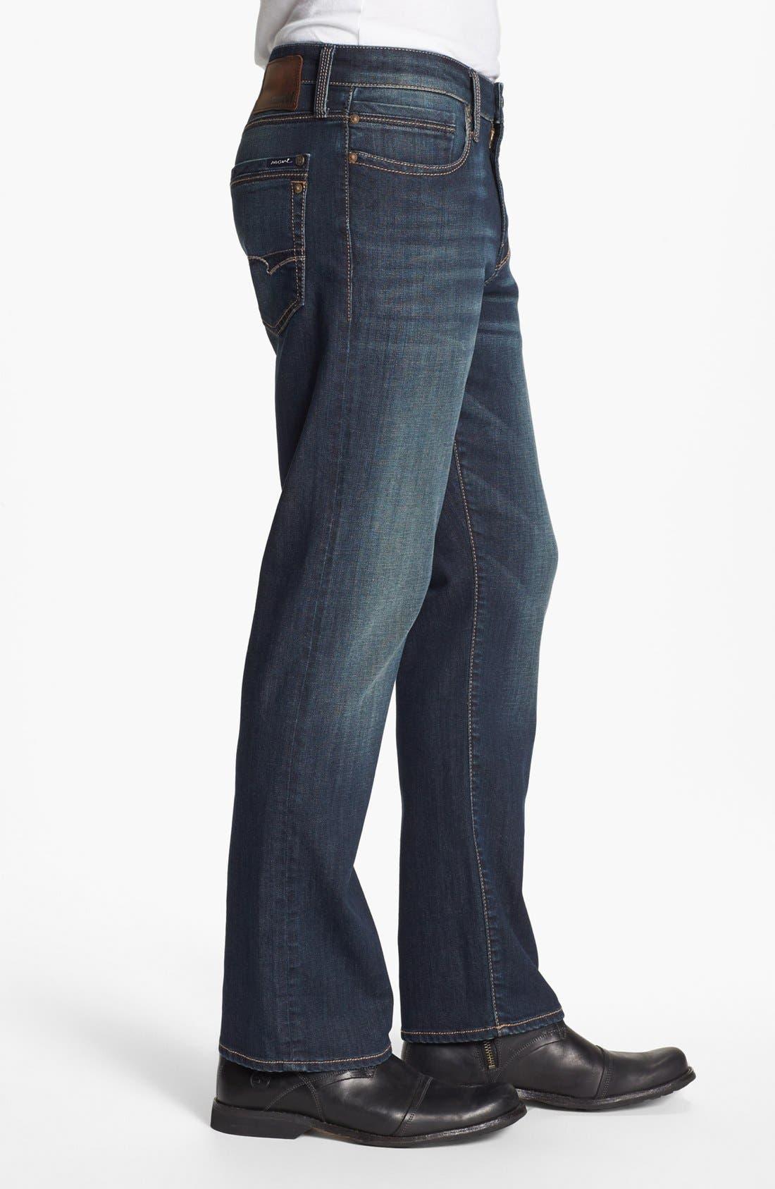 Alternate Image 3  - Mavi Jeans 'Matt' Relaxed Jeans (Dark Bilboa)