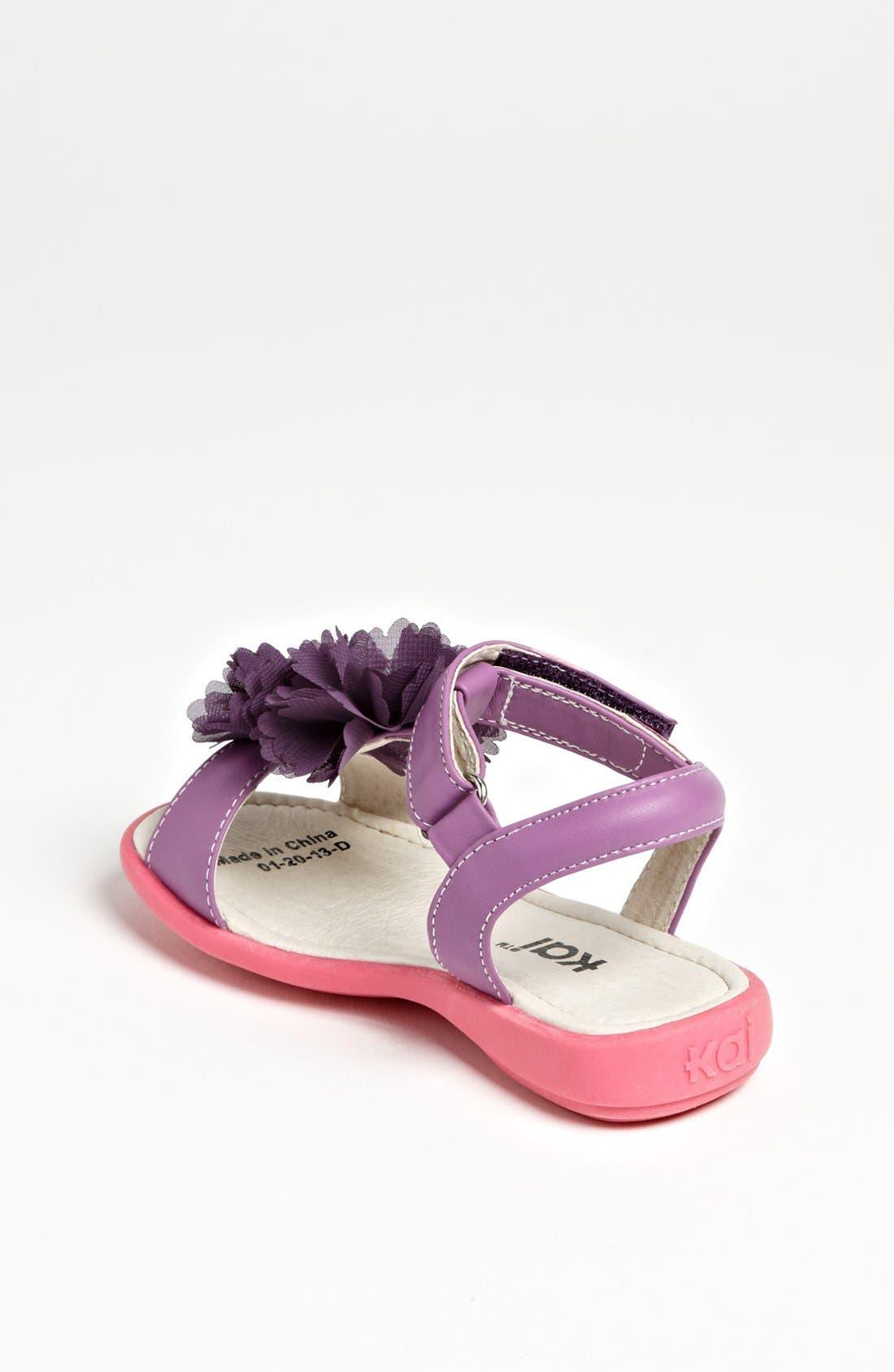 Alternate Image 2  - See Kai Run 'Genevieve Blossom' Sandal (Toddler & Little Kid)