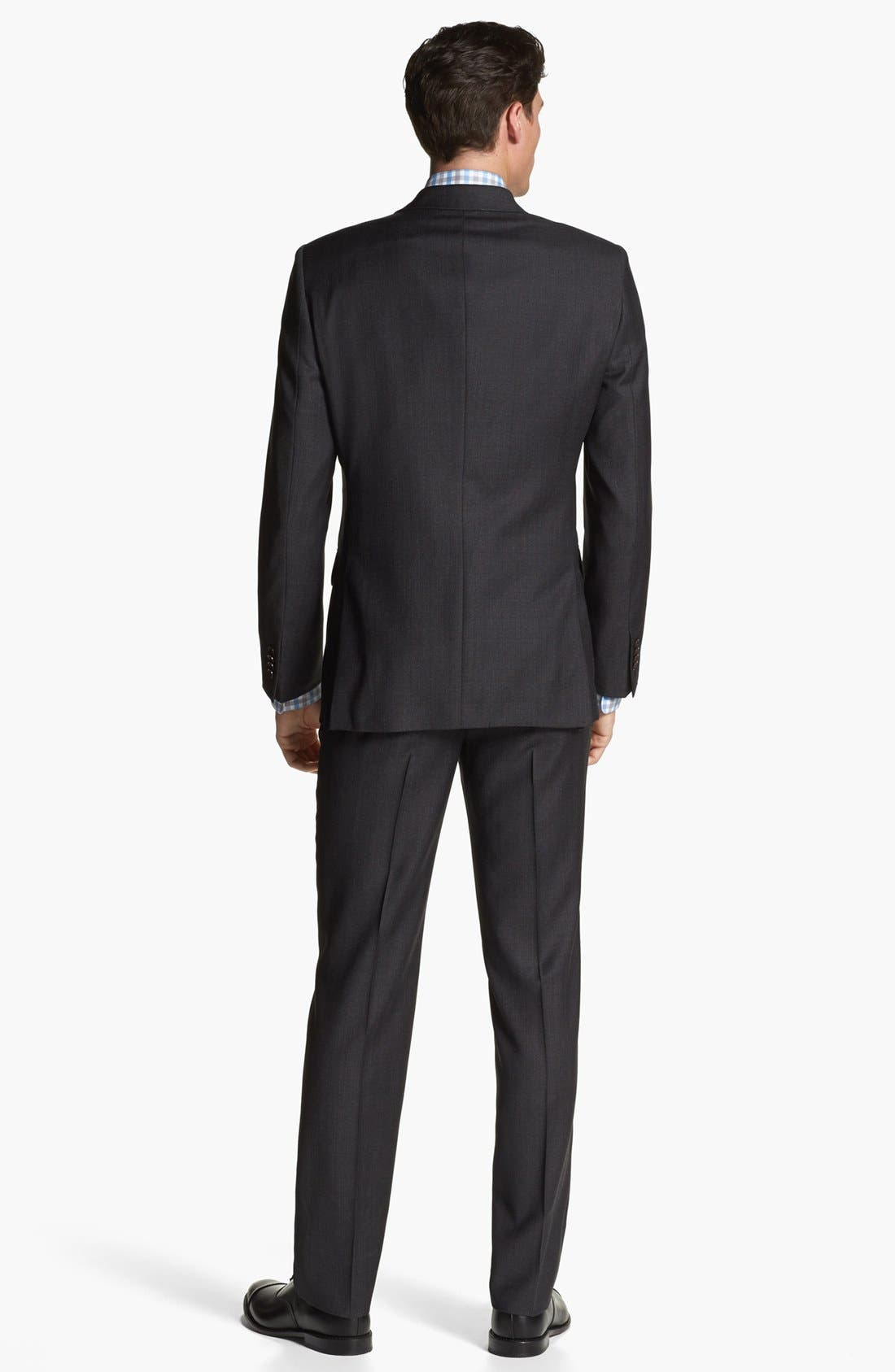 Alternate Image 3  - John Varvatos Star USA 'Townshend' Trim Fit Three Piece Suit