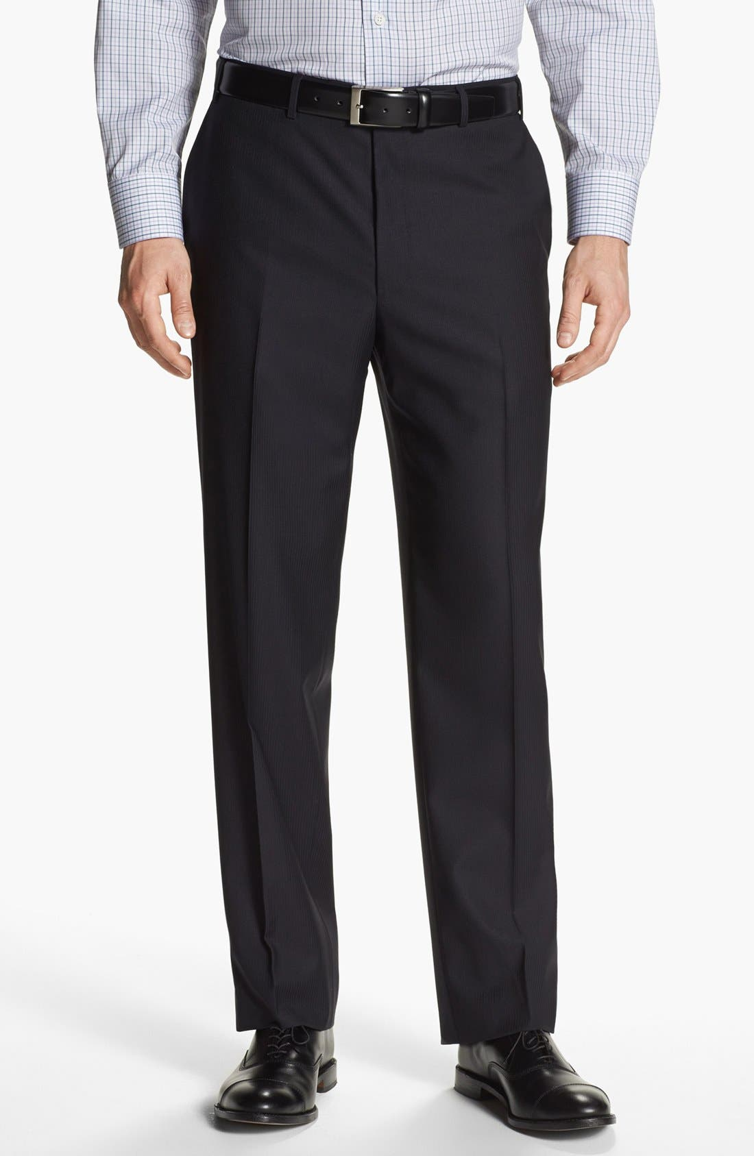 Alternate Image 5  - Canali Stripe Wool Suit