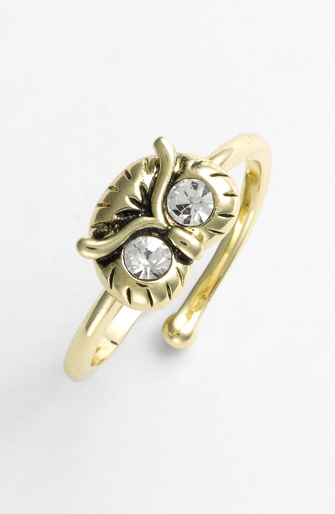 Alternate Image 1 Selected - Ariella Collection Owl Ring (Nordstrom Exclusive)
