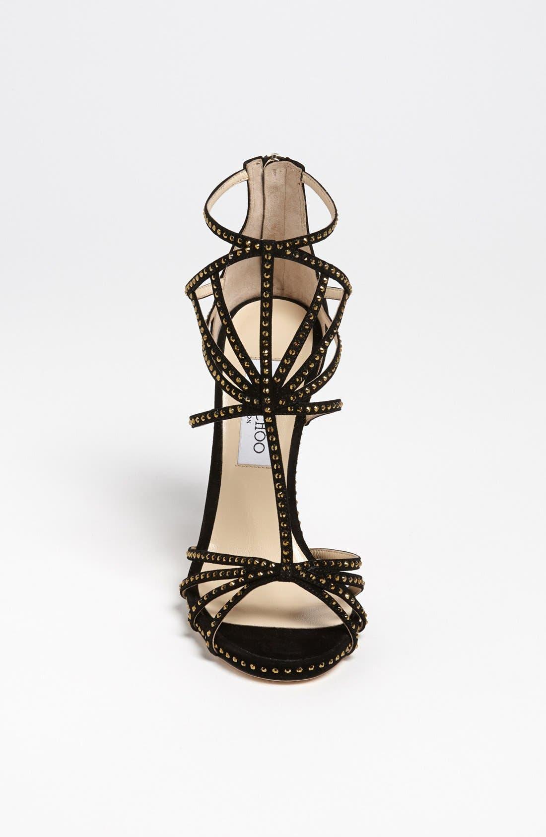Alternate Image 3  - Jimmy Choo 'Crystal' Sandal