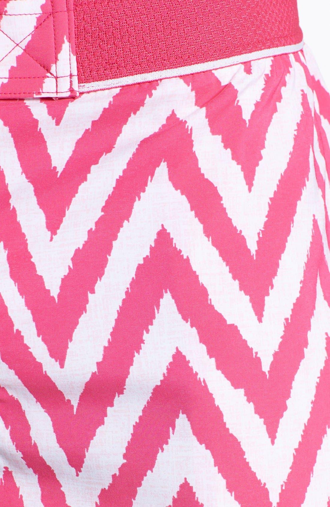 Alternate Image 3  - 2(x)ist 'Hampton' Zigzag Swim Trunks