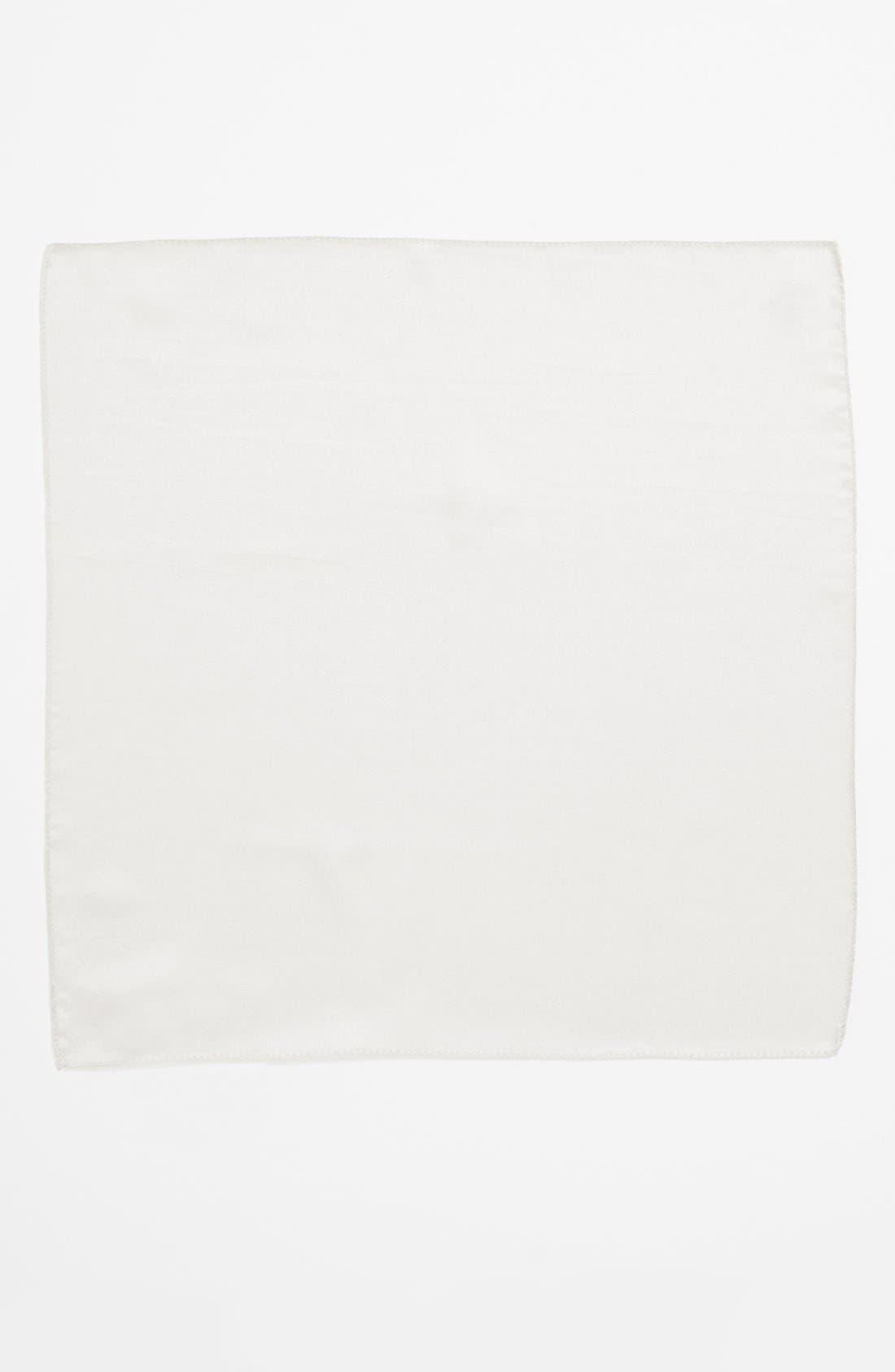 Alternate Image 2  - BOSS Silk Pocket Square