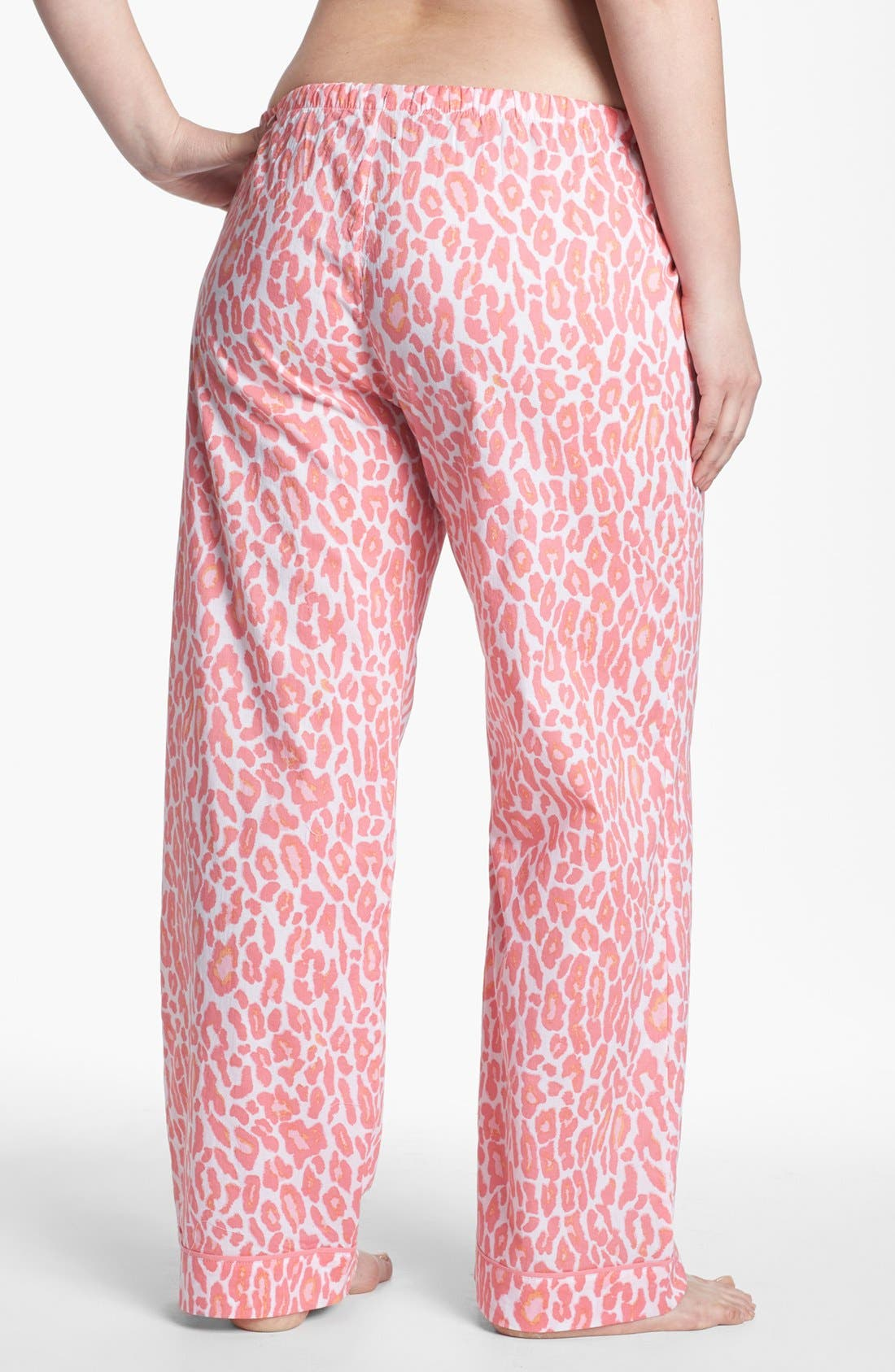 Alternate Image 2  - PJ Salvage Print Lounge Pants (Plus Size) (Online Only)