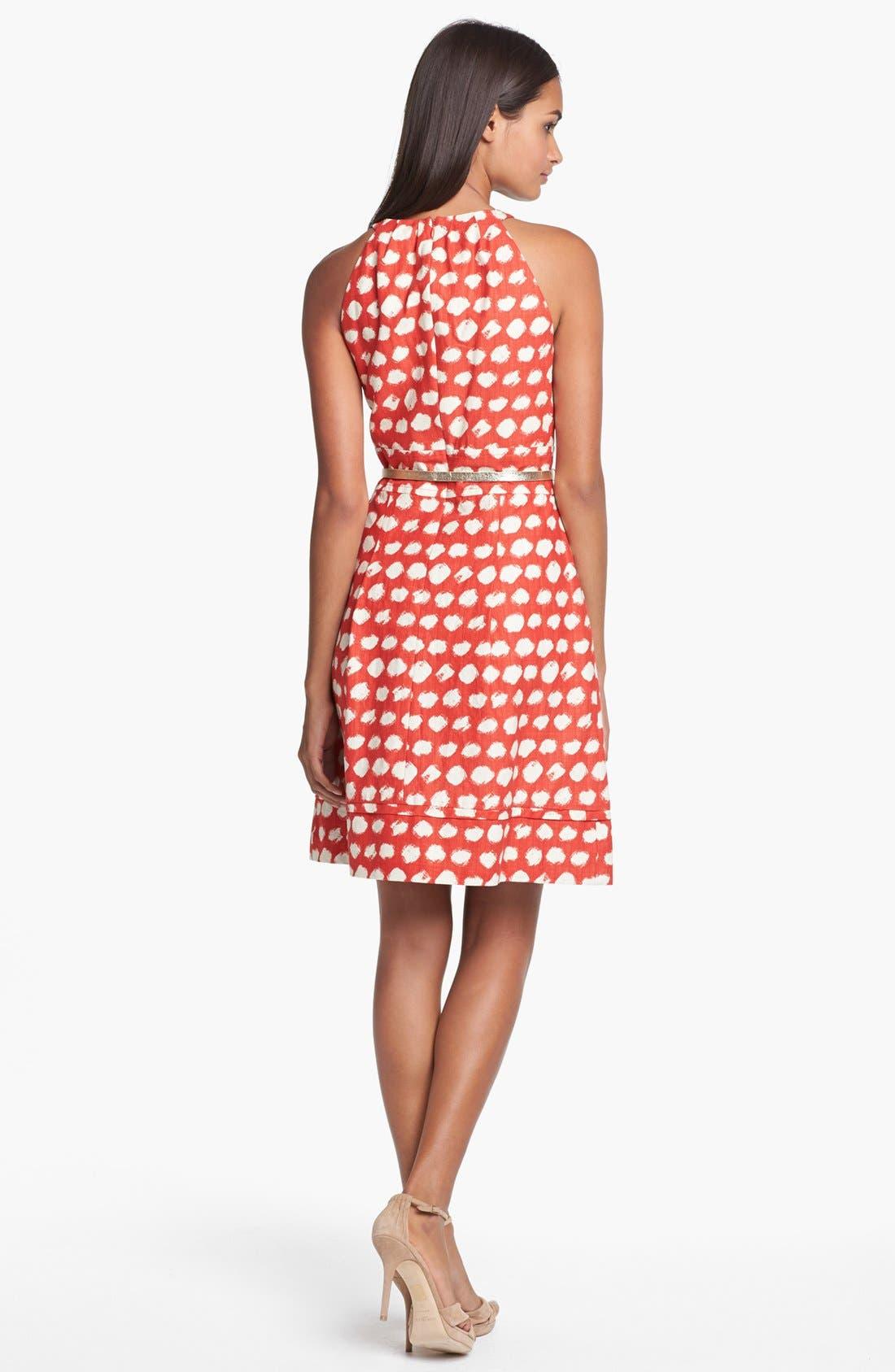 Alternate Image 3  - Eliza J Belted A-Line Dress