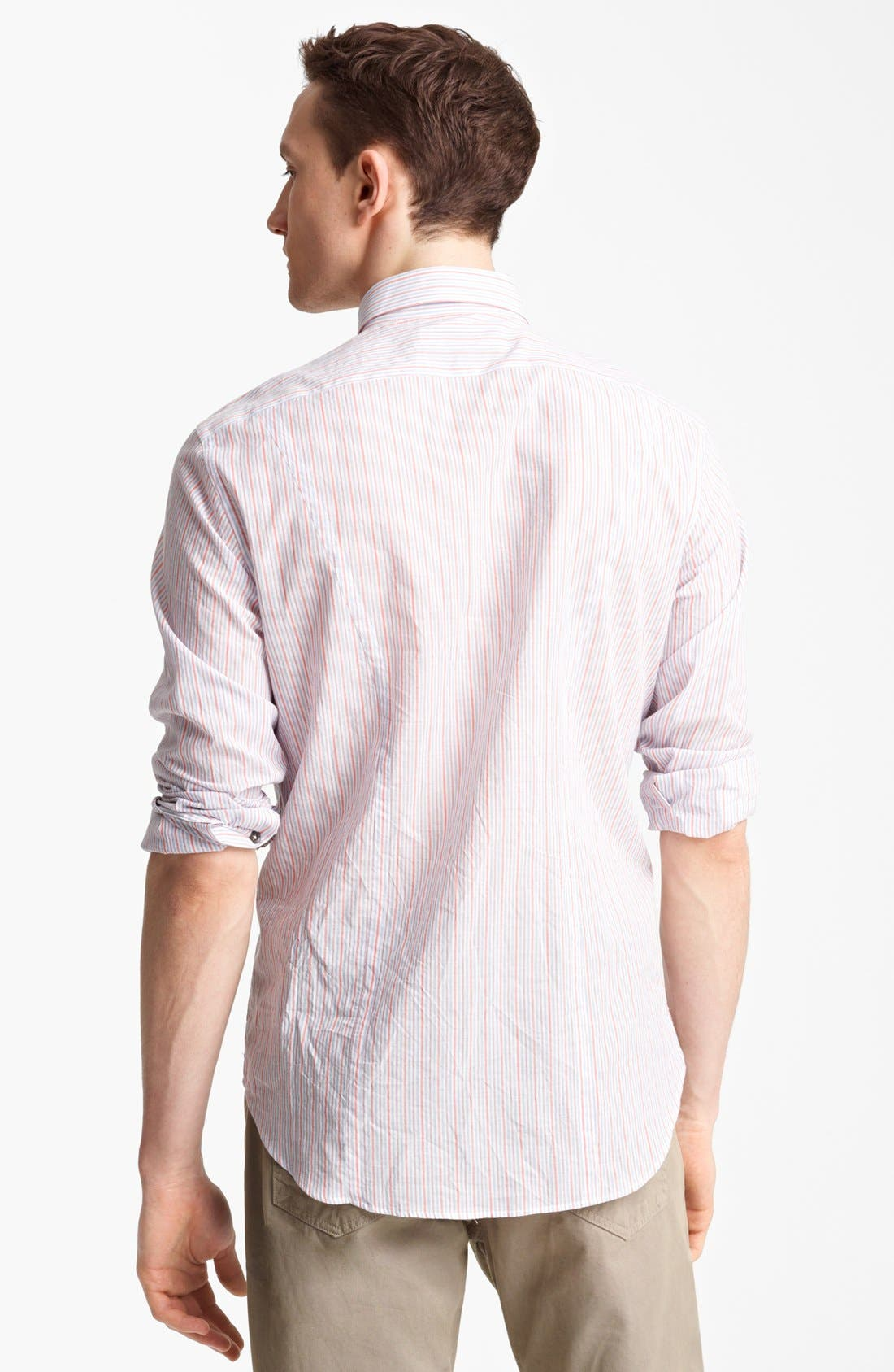 Alternate Image 2  - rag & bone 'Charles' Stripe Woven Shirt