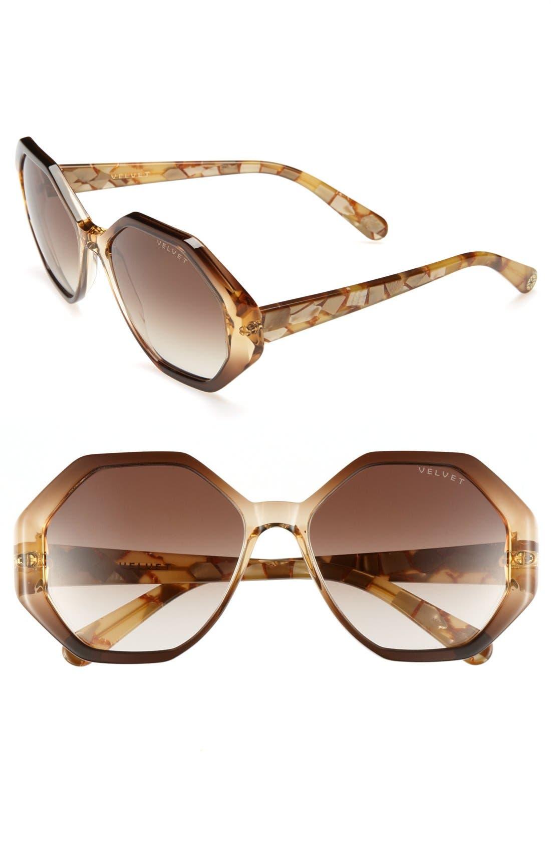 Alternate Image 1 Selected - Velvet Eyewear 'Jami' Sunglasses