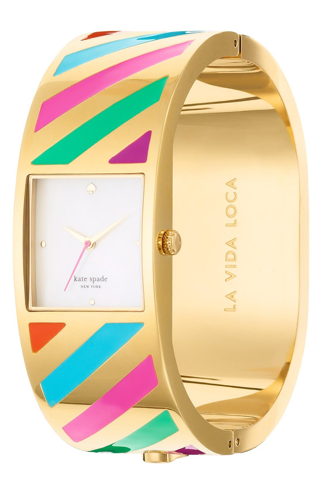 Alternate Image 2  - kate spade new york 'delacorte' bangle watch, 20mm