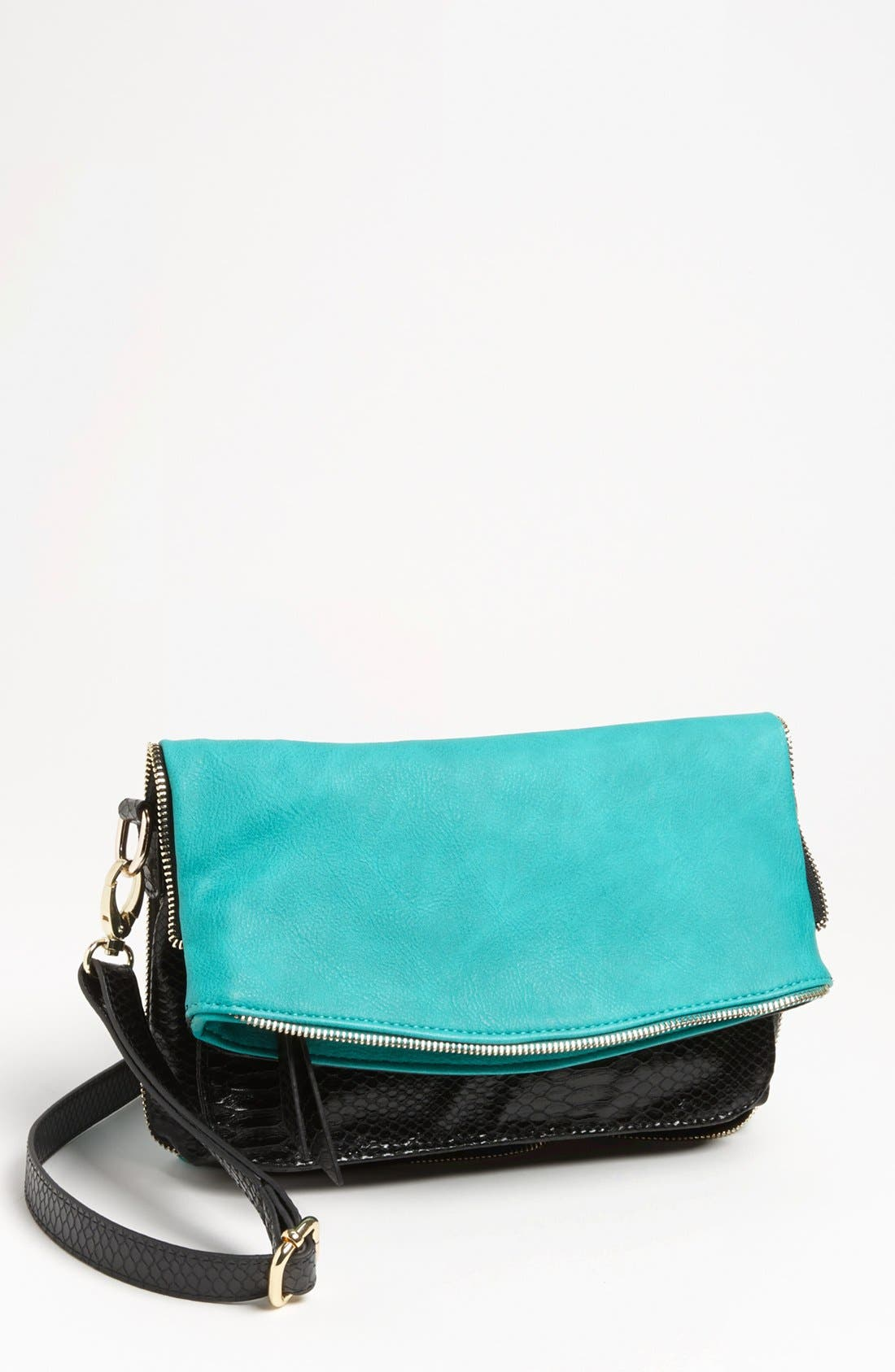 Main Image - Big Buddha 'Orchard' Foldover Crossbody Bag