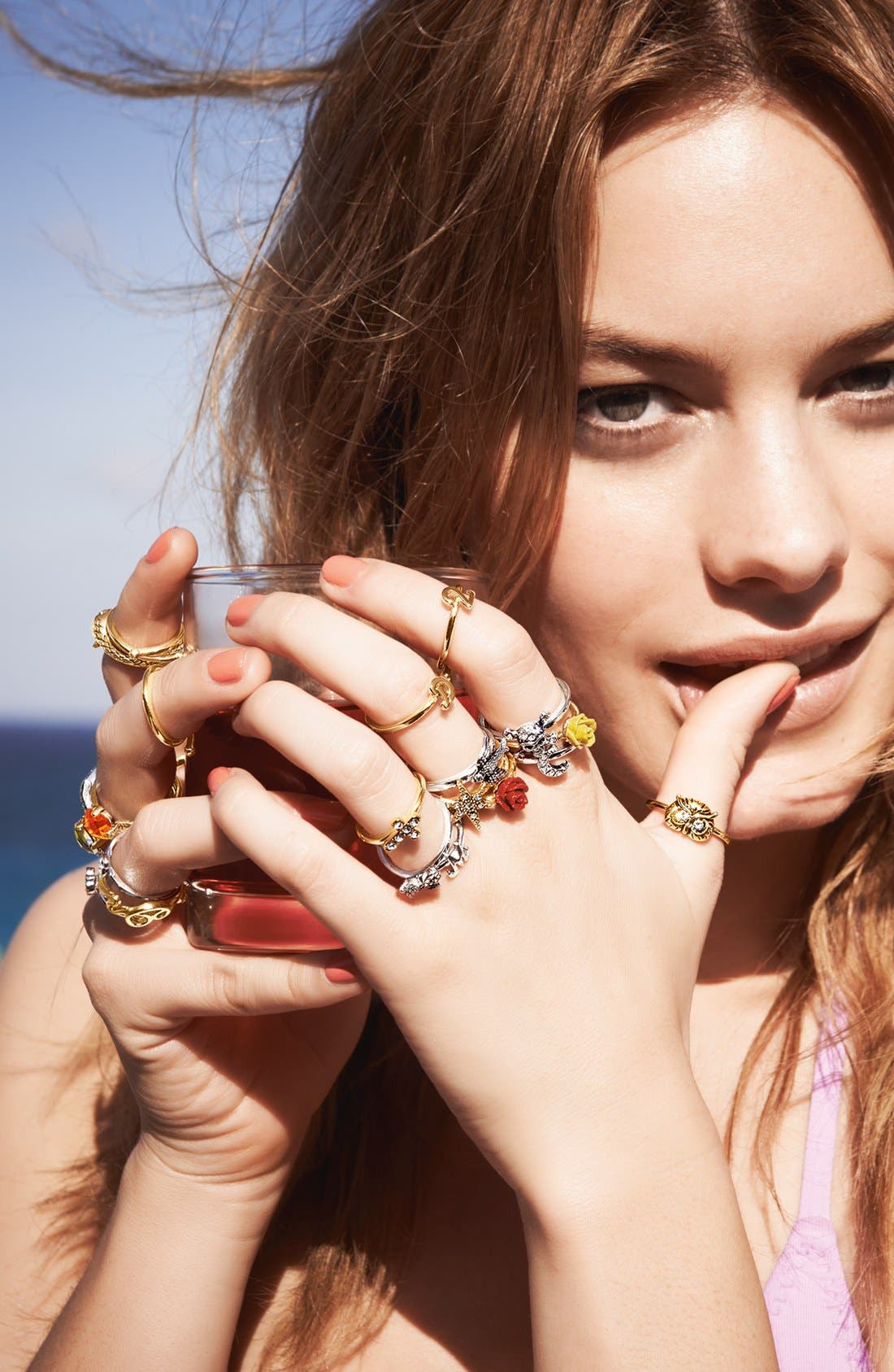 Alternate Image 4  - Ariella Collection Owl Ring (Nordstrom Exclusive)