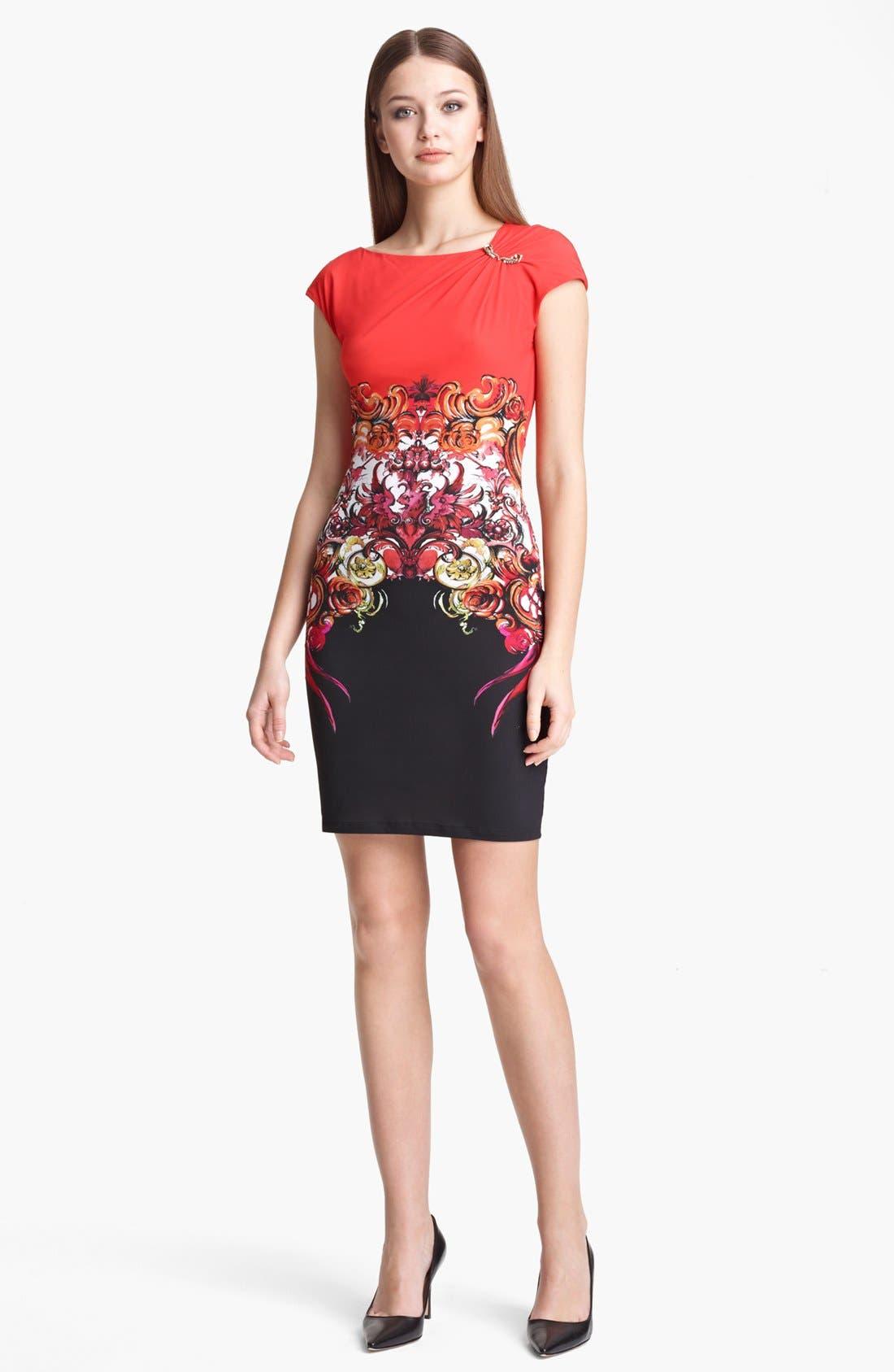Alternate Image 1 Selected - Roberto Cavalli 'Dafni Print' Dress
