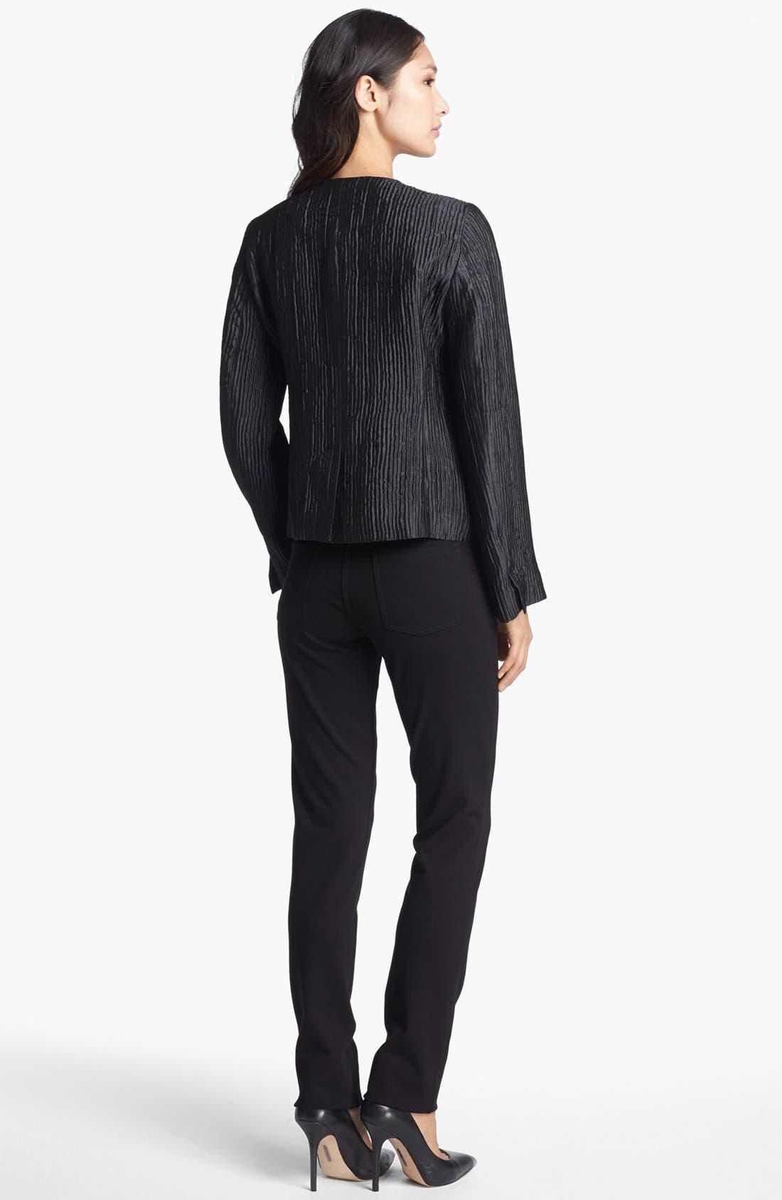Alternate Image 5  - Eileen Fisher Textured Silk Blend Jacket