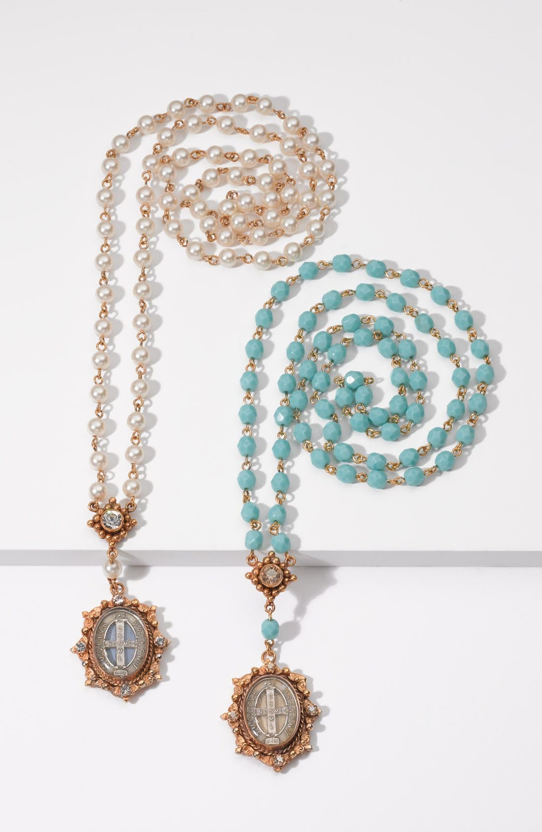 Alternate Image 2  - Virgins Saints and Angels Beaded Necklace (Nordstrom Exclusive)