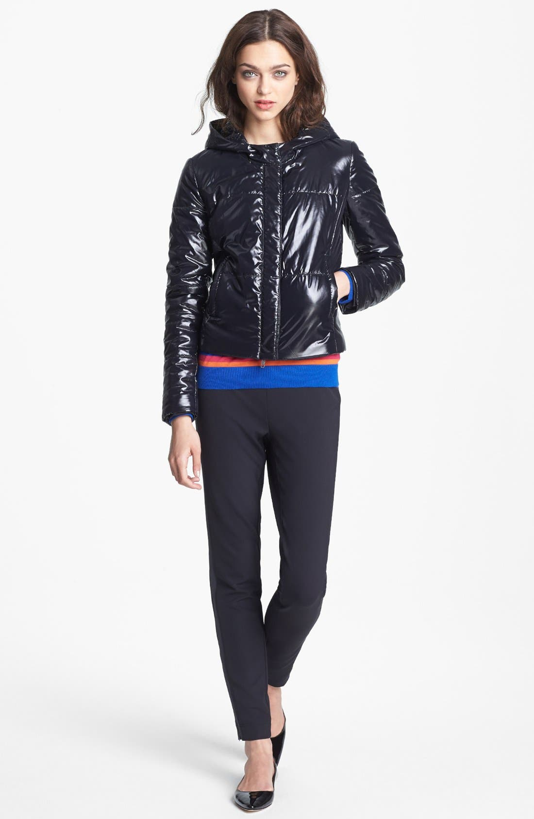 Alternate Image 3  - Miss Wu Tech Nylon Puffer Jacket (Nordstrom Exclusive)