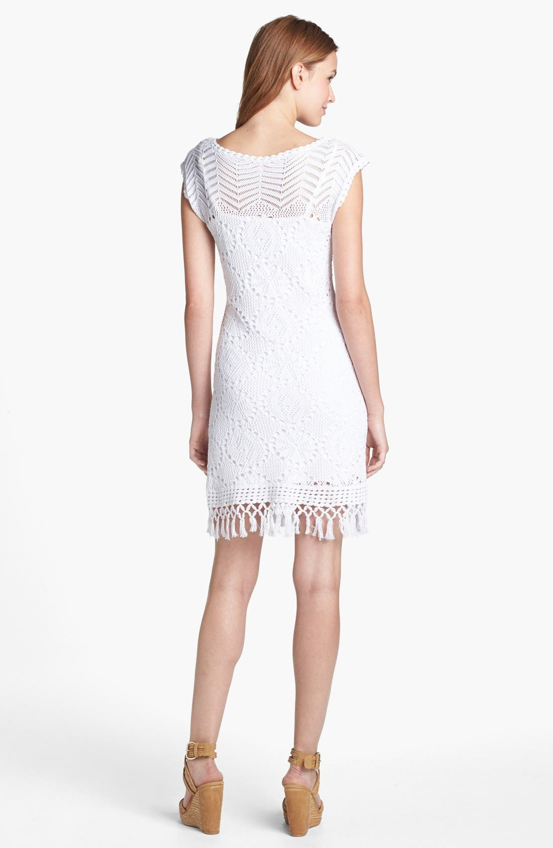 Alternate Image 2  - Lilly Pulitzer® 'Adabelle' Crochet Sweater Dress