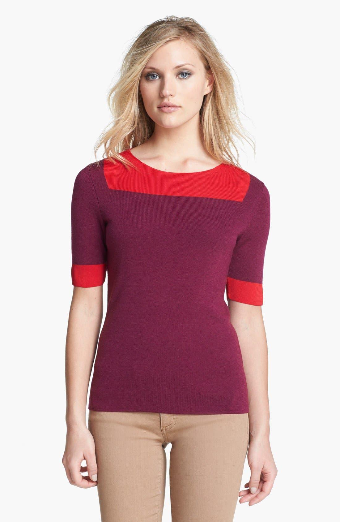 Alternate Image 1 Selected - Tory Burch 'Juliet' Sweater