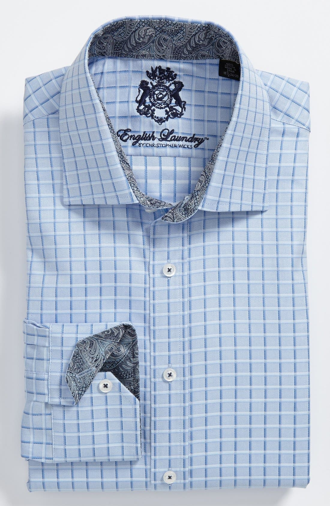 Main Image - English Laundry Trim Fit Dress Shirts