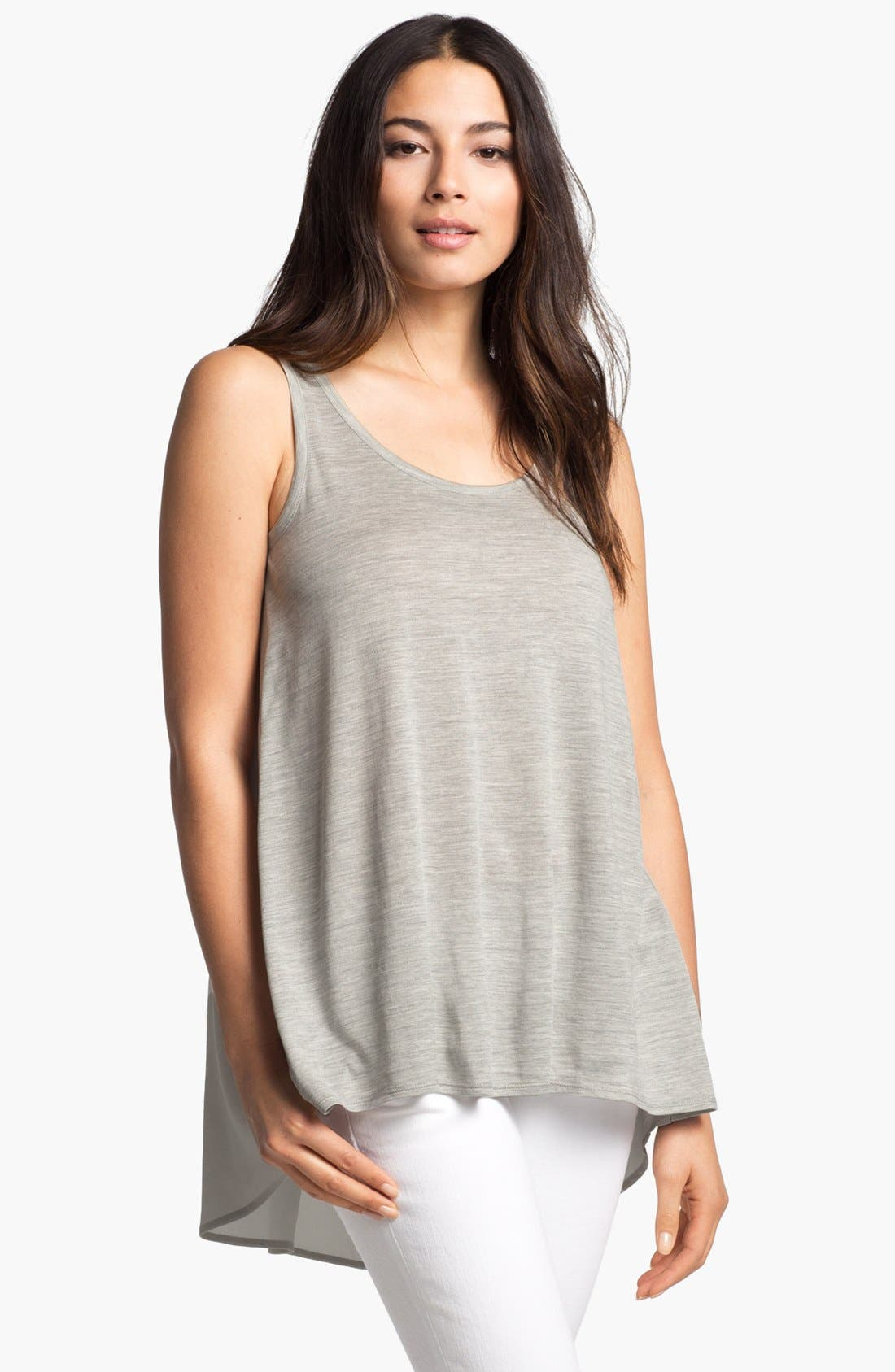 Main Image - Eileen Fisher Scoop Neck Tank