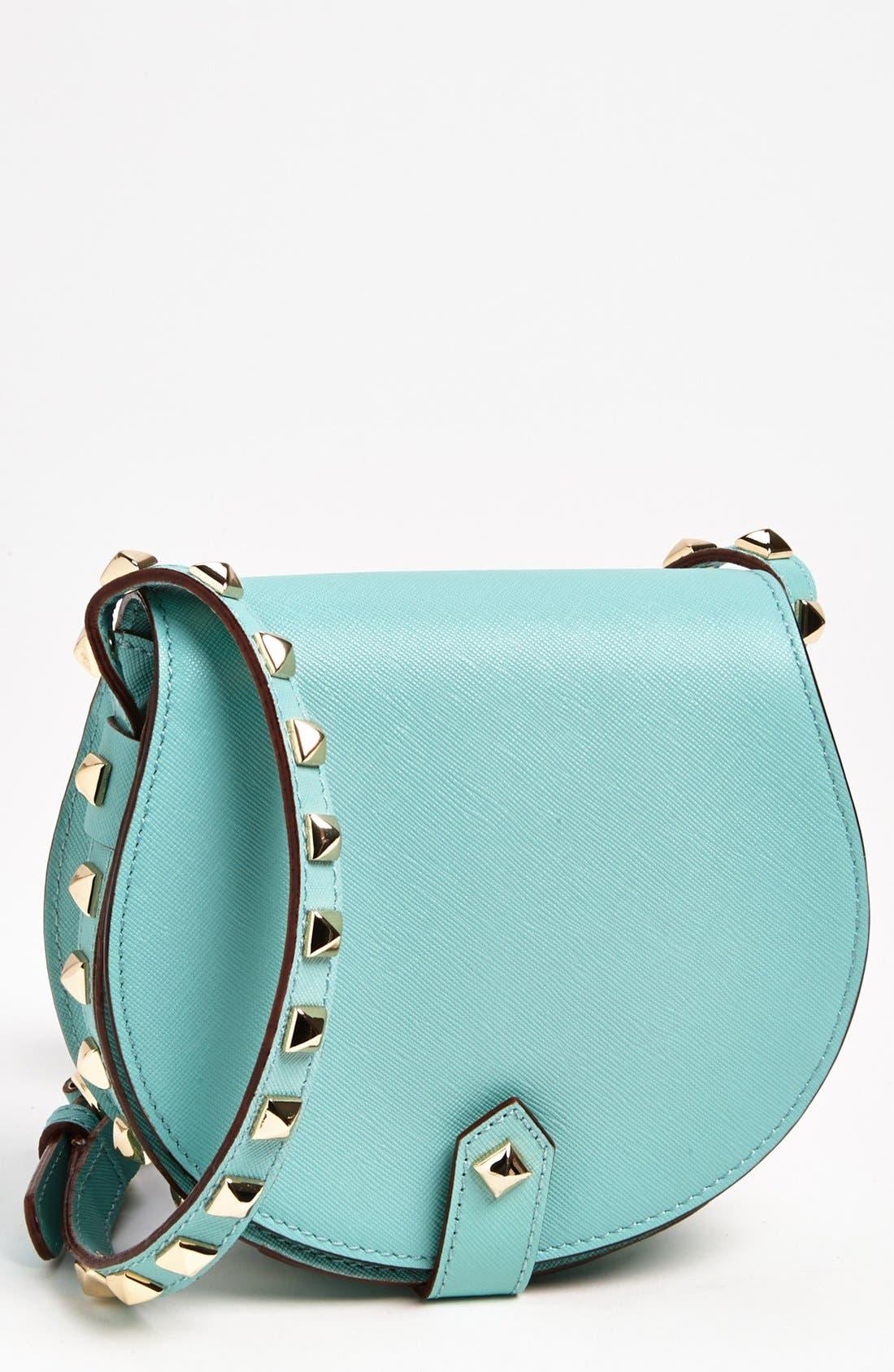 Alternate Image 1 Selected - Rebecca Minkoff 'Skylar - Mini' Leather Crossbody Bag