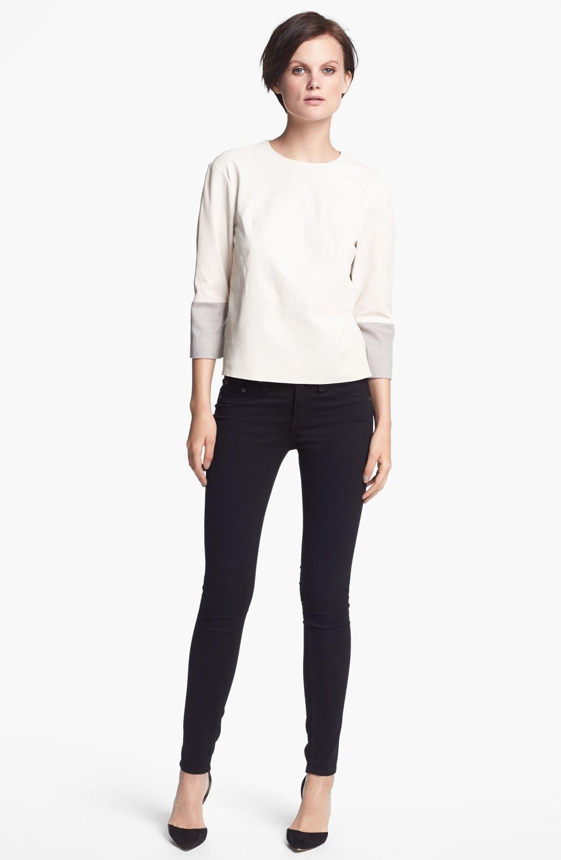 Main Image - J Brand Ready-to-Wear 'Anya' Leather Shirt