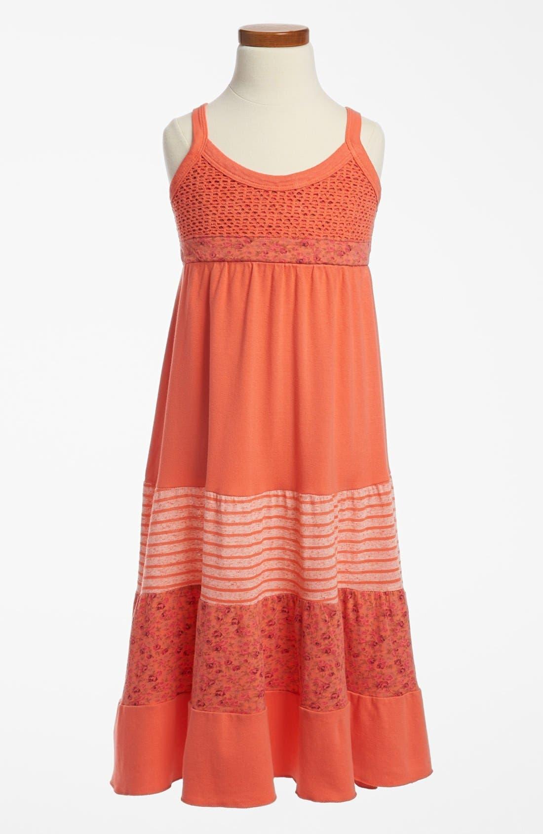 Main Image - Mignone Knit Maxi Sundress (Little Girls & Big Girls)