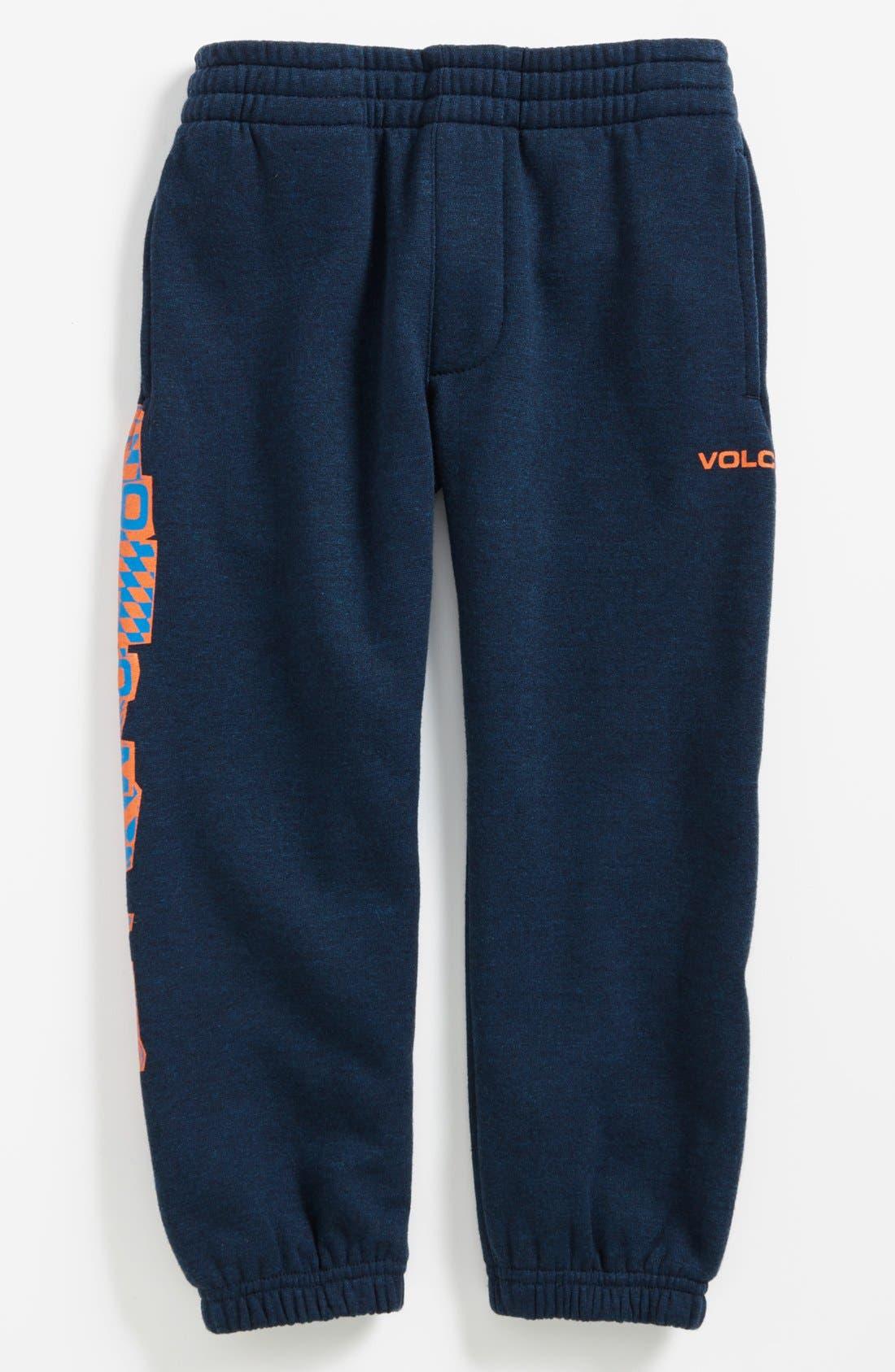 Alternate Image 1 Selected - Volcom 'Gigged' Sweatpants (Little Boys & Big Boys) (Online Only)