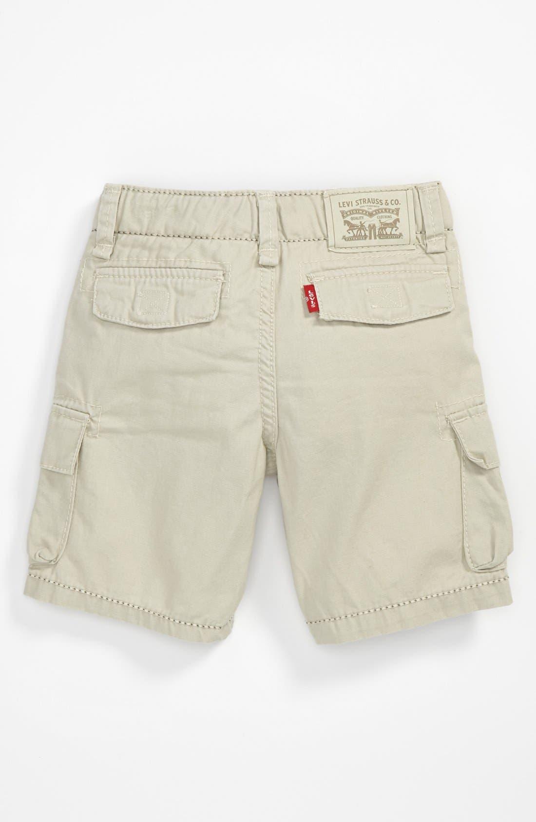 Alternate Image 2  - Levi's® 'Troop' Cargo Shorts (Toddler Boys)