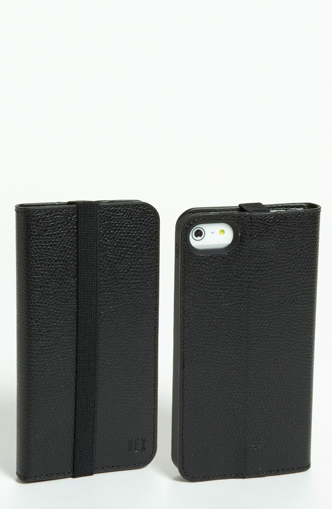 Alternate Image 1 Selected - HEX 'Axis' iPhone 5 Wallet