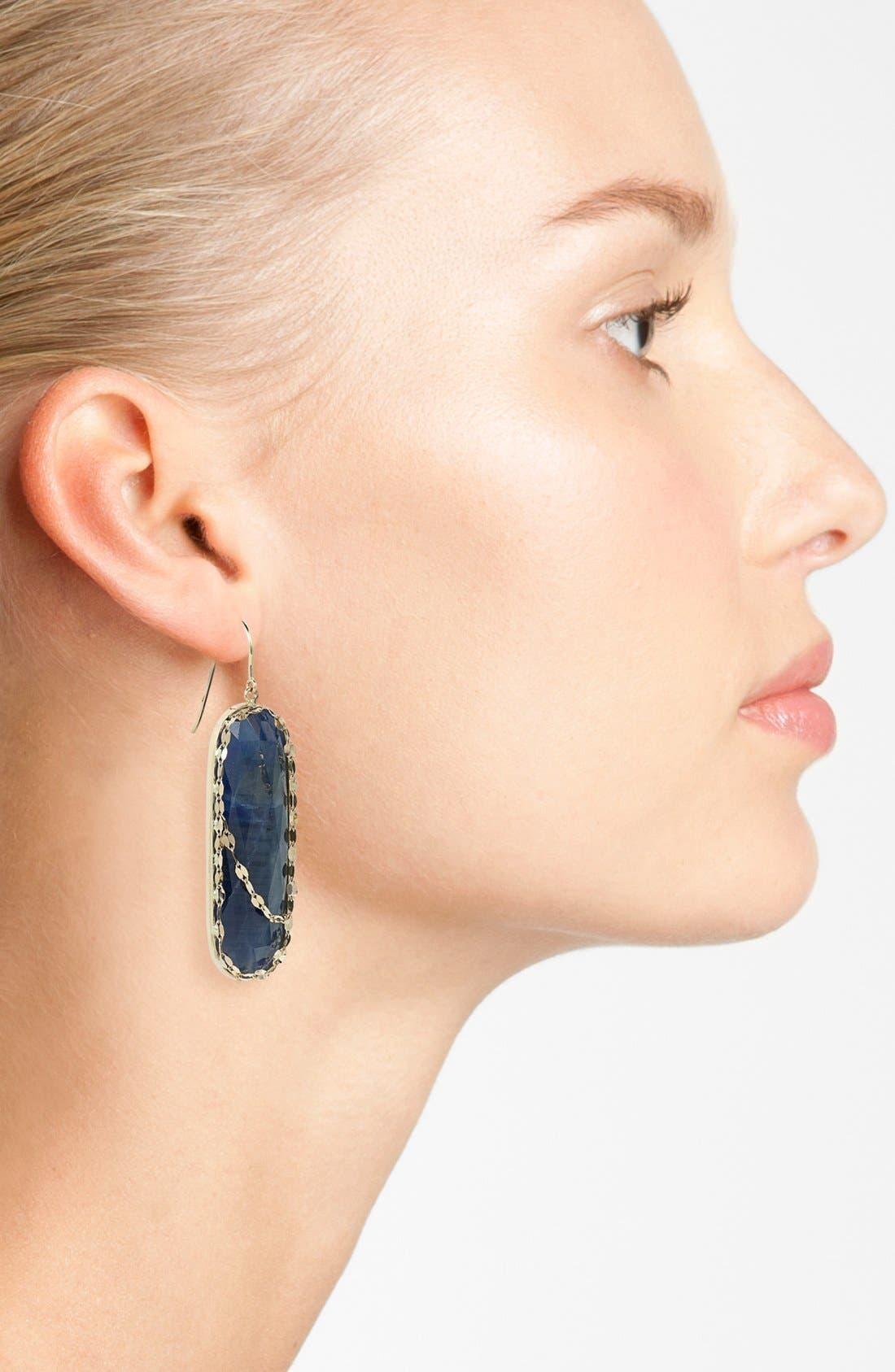 Alternate Image 2  - Lana Jewelry 'Stone Gold' Sapphire Drop Earrings