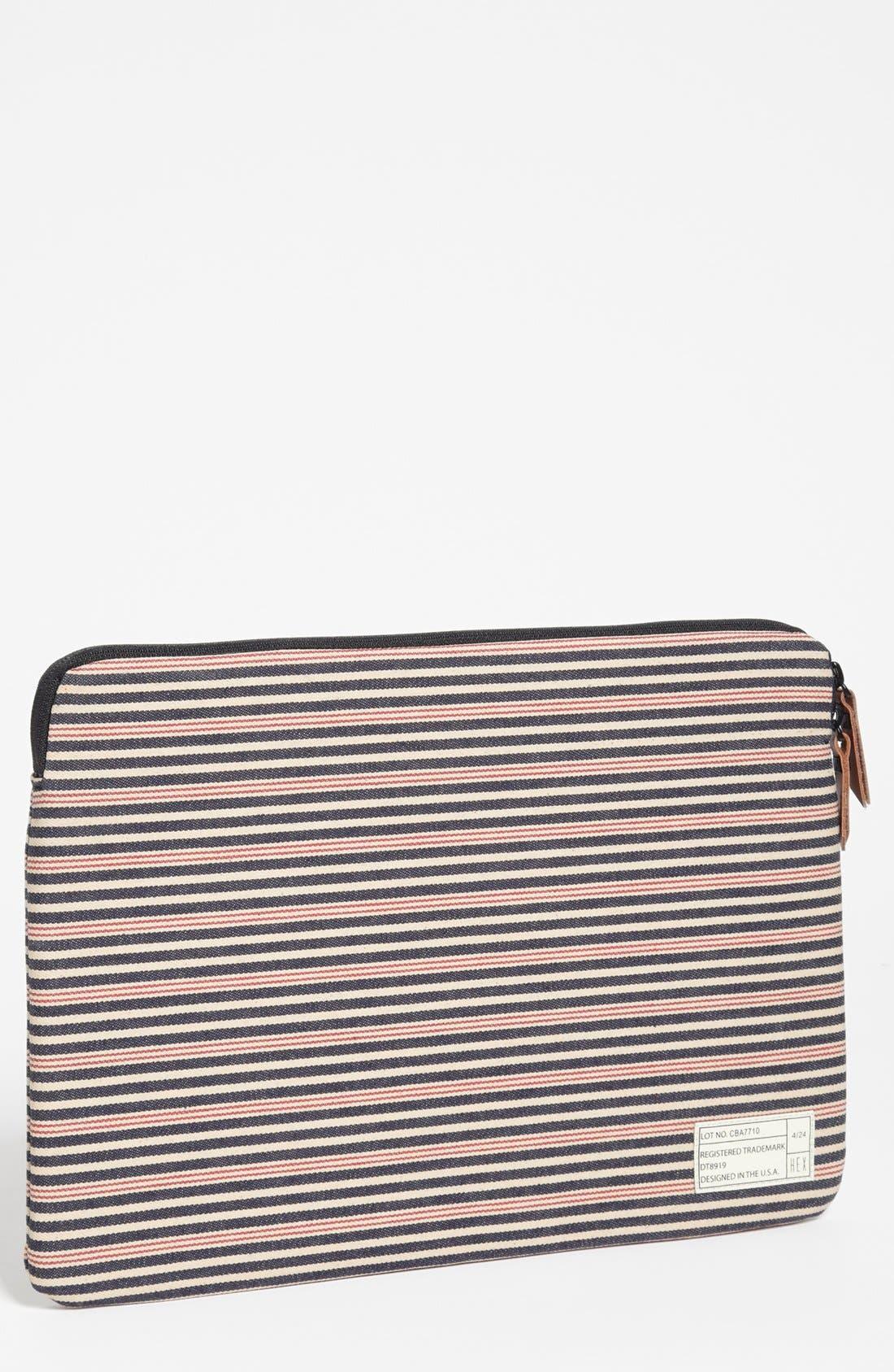 Alternate Image 1 Selected - HEX 'Cabana' MacBook Air Sleeve (13 Inch)