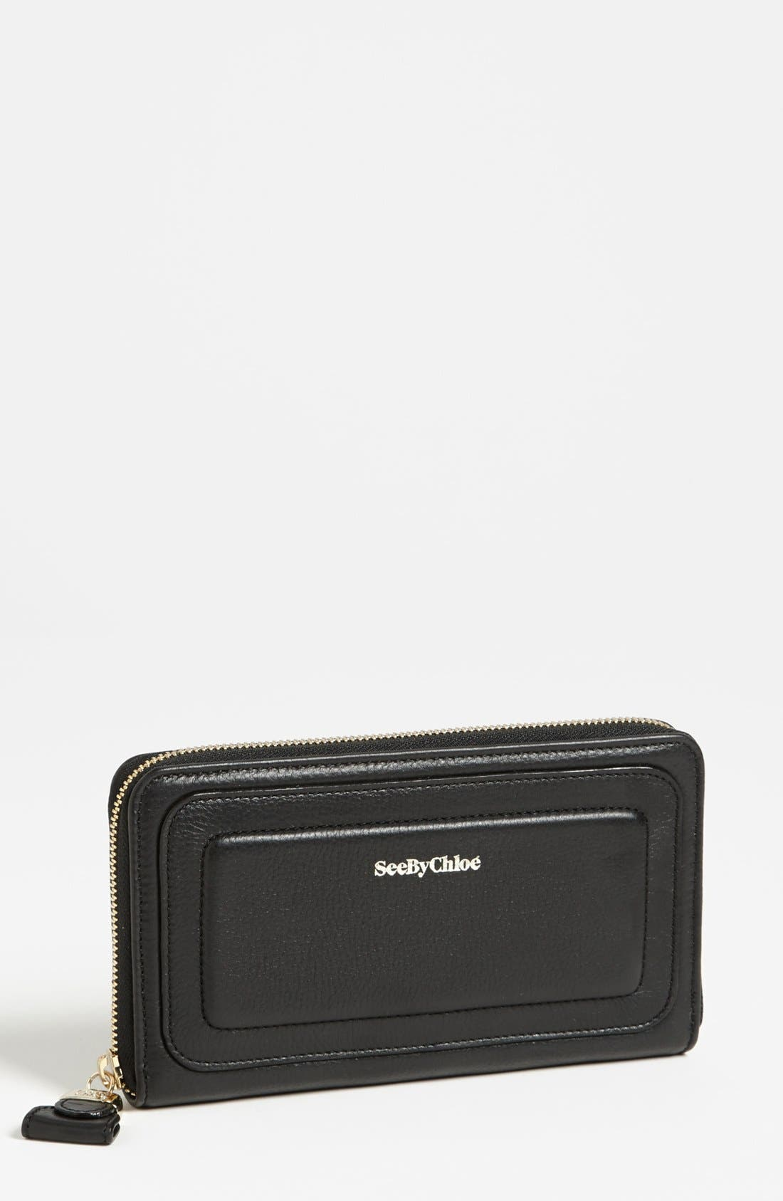 Main Image - See by Chloé 'Kay' Long Wallet