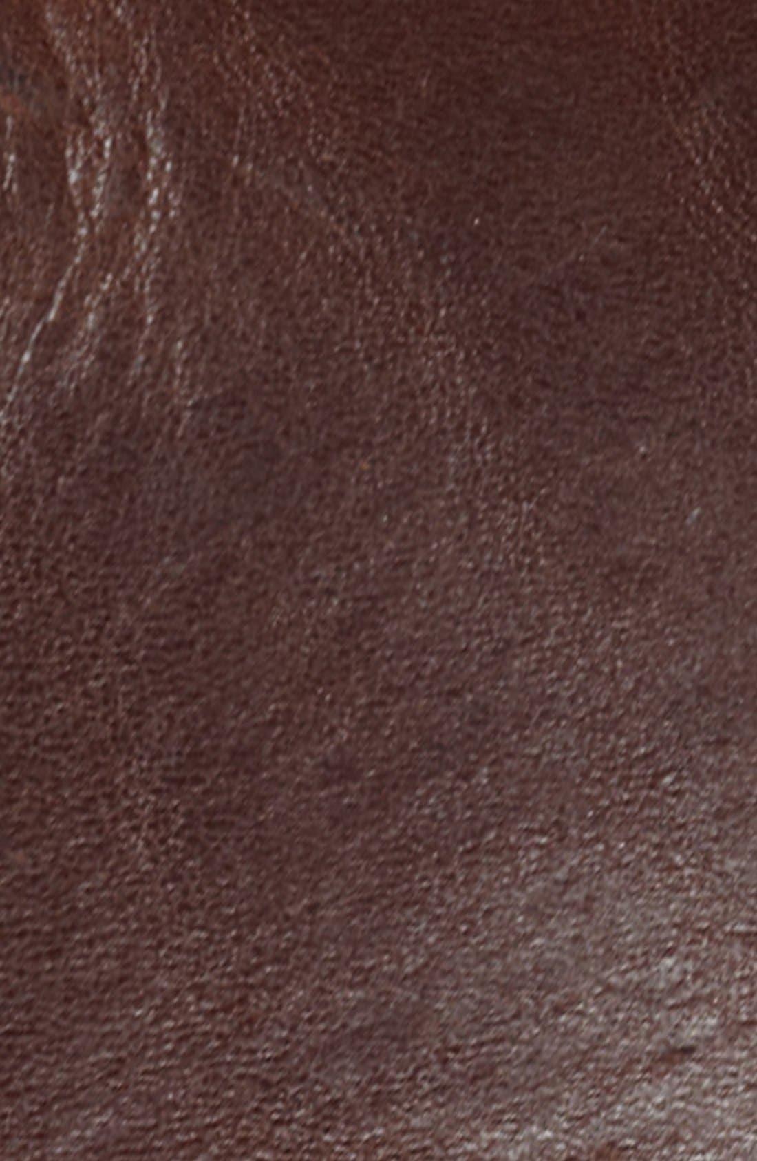 Alternate Image 2  - Bill Adler 1981 Vintage Leather Belt