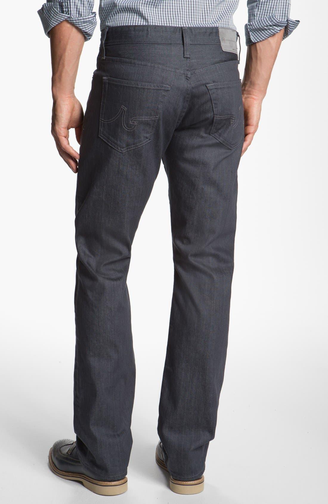 Alternate Image 2  - AG 'Protégé' Straight Leg Jeans (Airlift)
