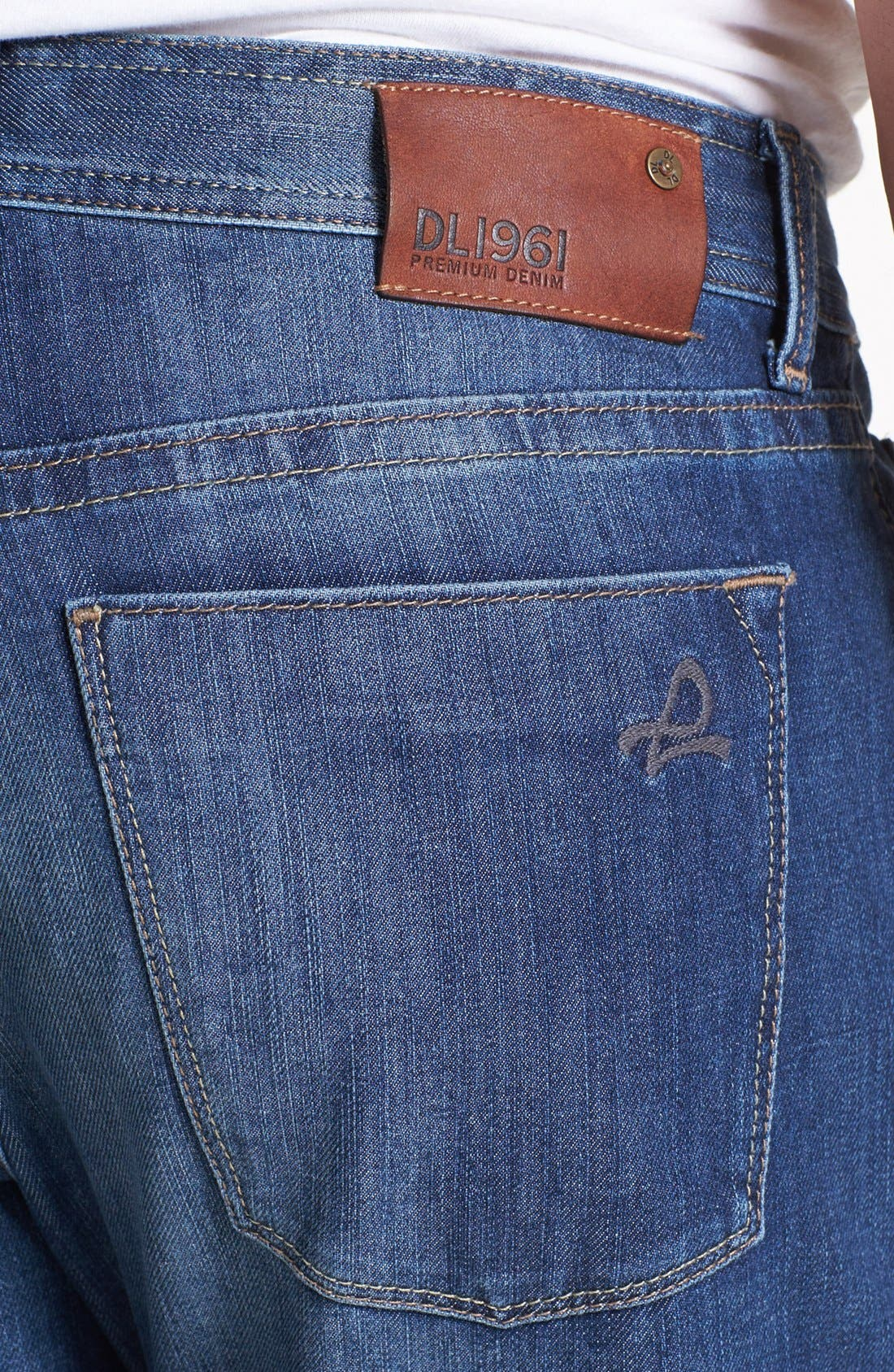 Alternate Image 4  - DL1961 'Vince' Straight Leg Jeans (Charger)
