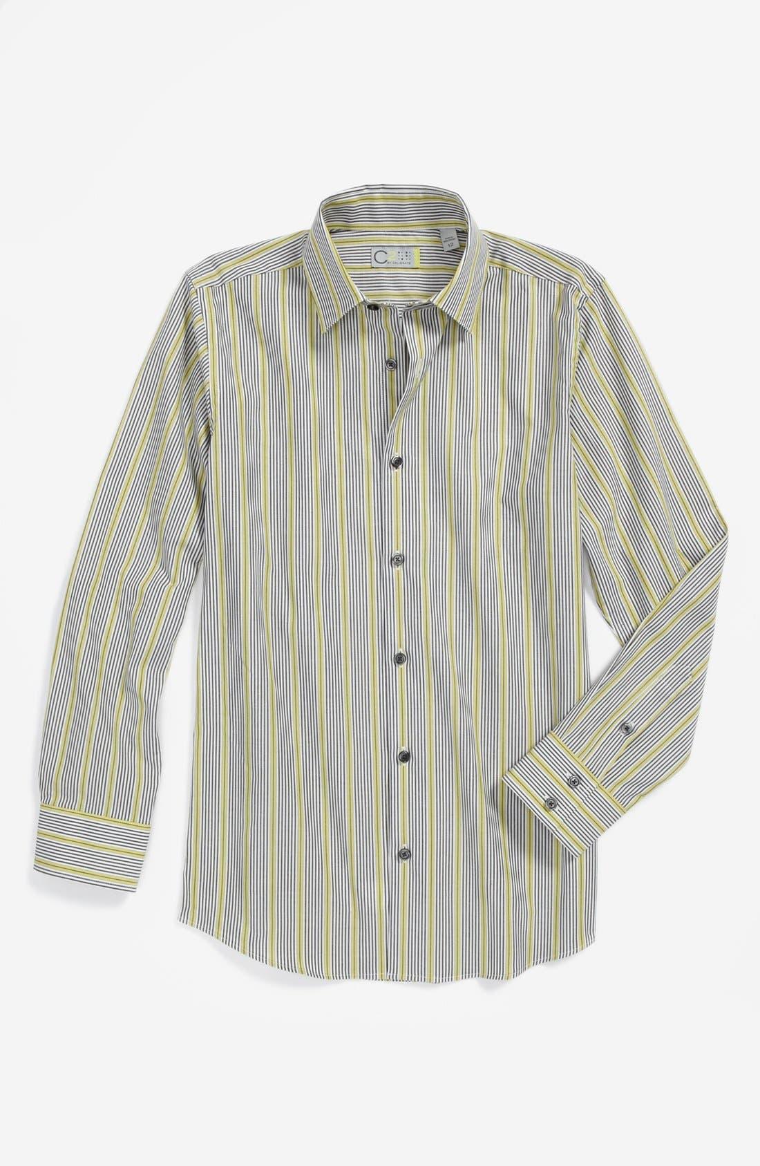 Alternate Image 1 Selected - C2 by Calibrate Dress Shirt (Big Boys)