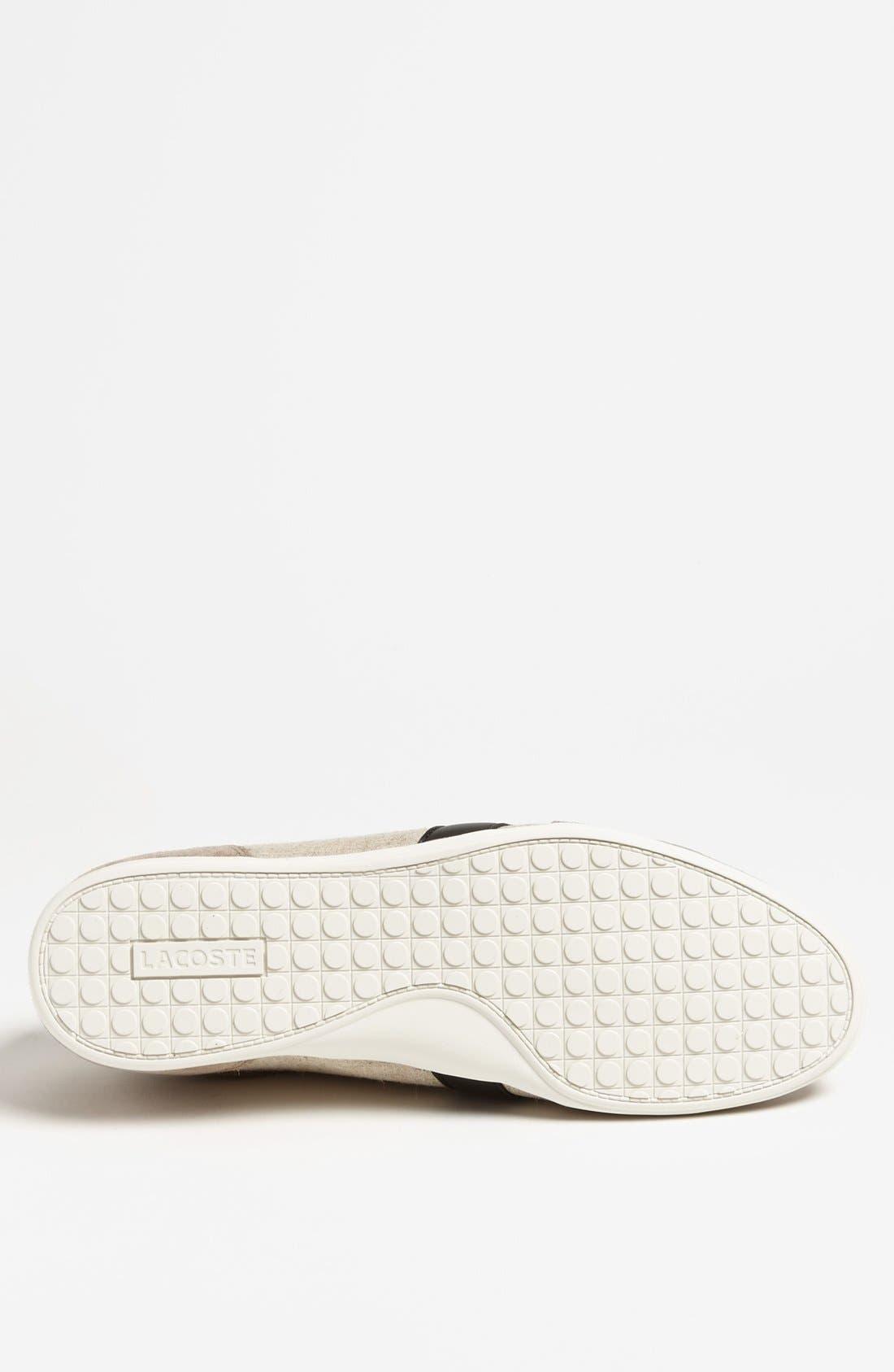 Alternate Image 4  - Lacoste 'Alisos 12' Sneaker (Men)