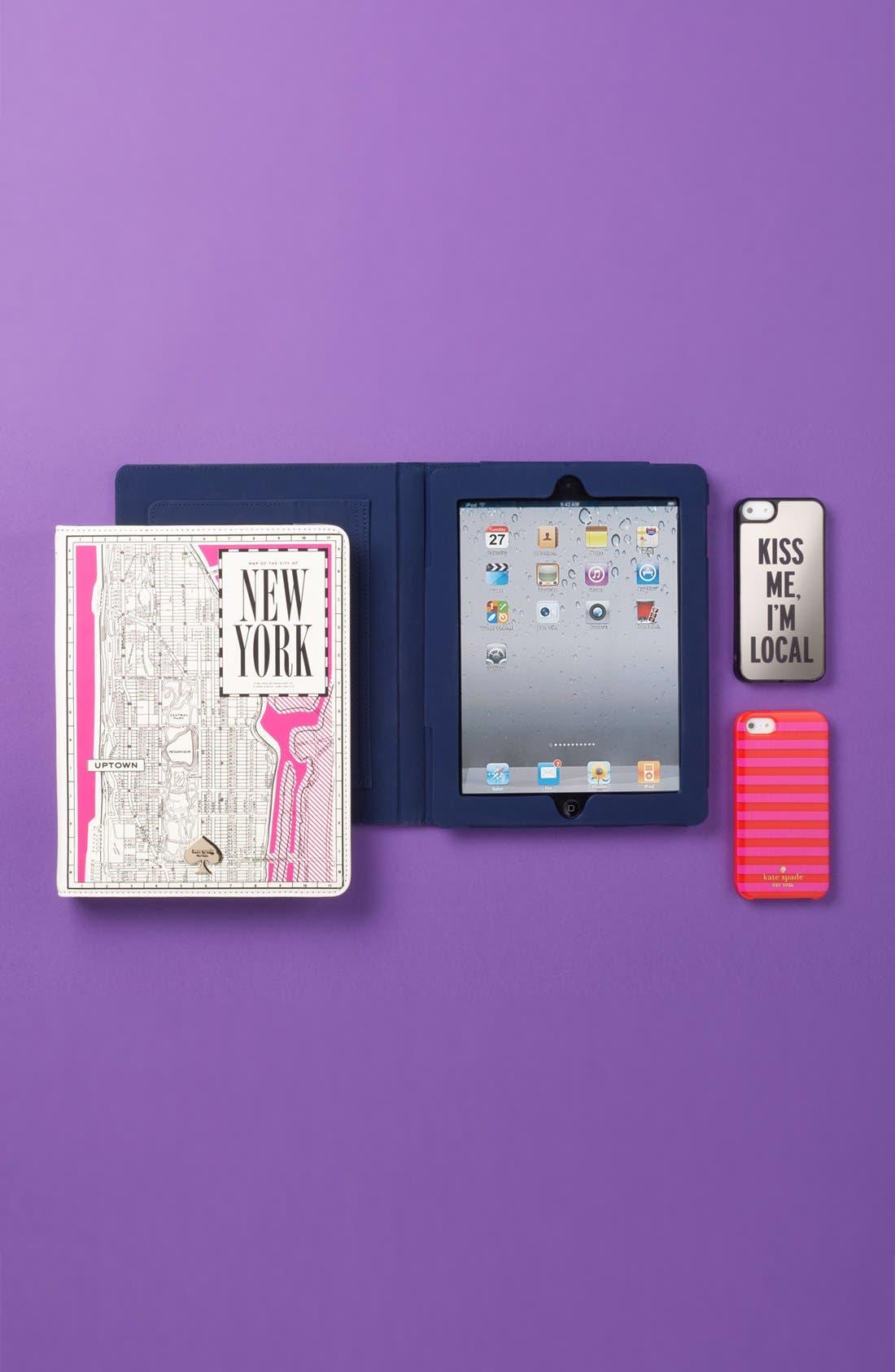 Alternate Image 5  - kate spade new york 'new york map' iPad 2 & 3 folio