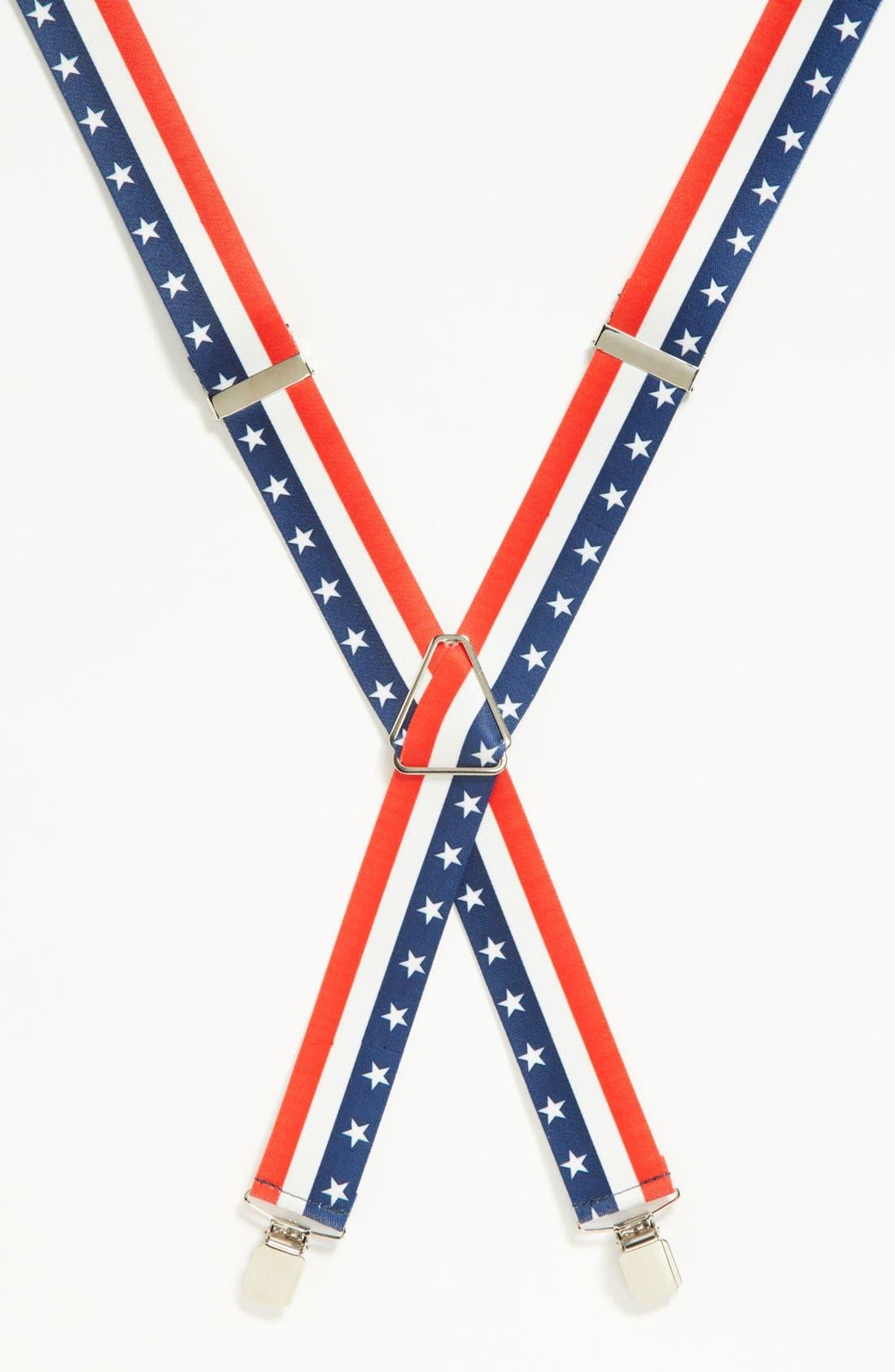 Main Image - Topman 'Stars and Stripes' Suspenders