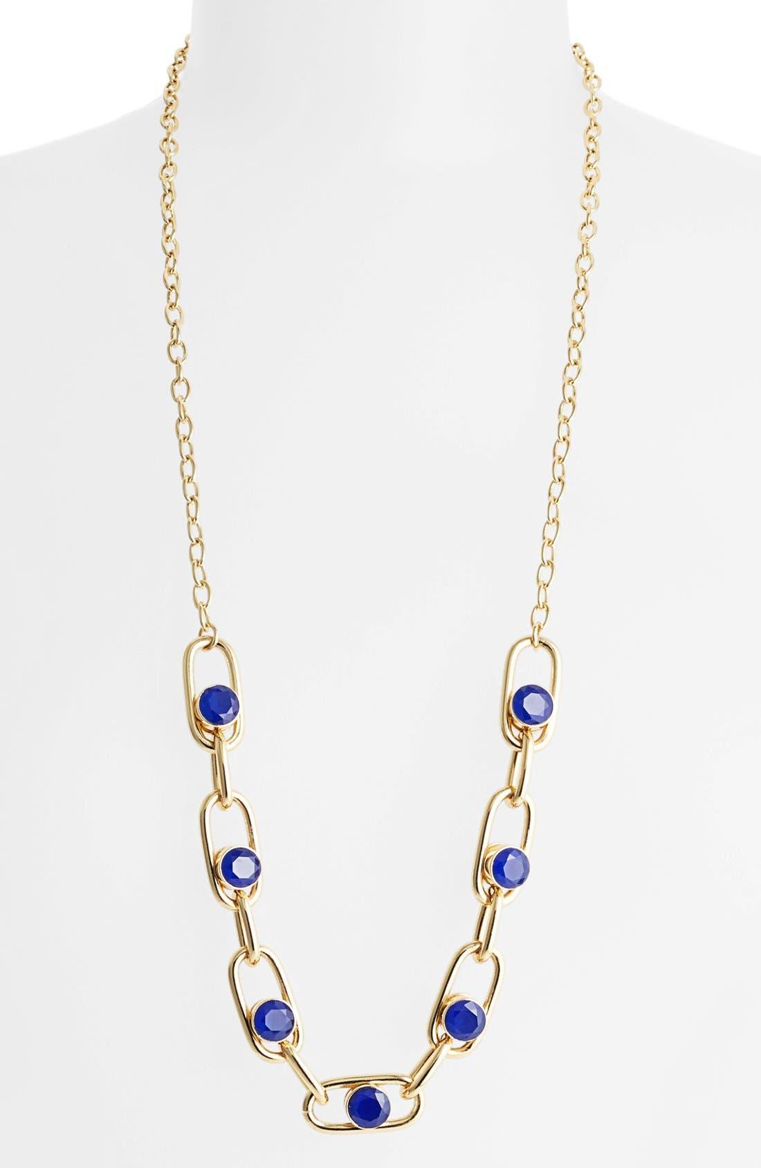 Alternate Image 1 Selected - kate spade new york 'get rolling' long link necklace