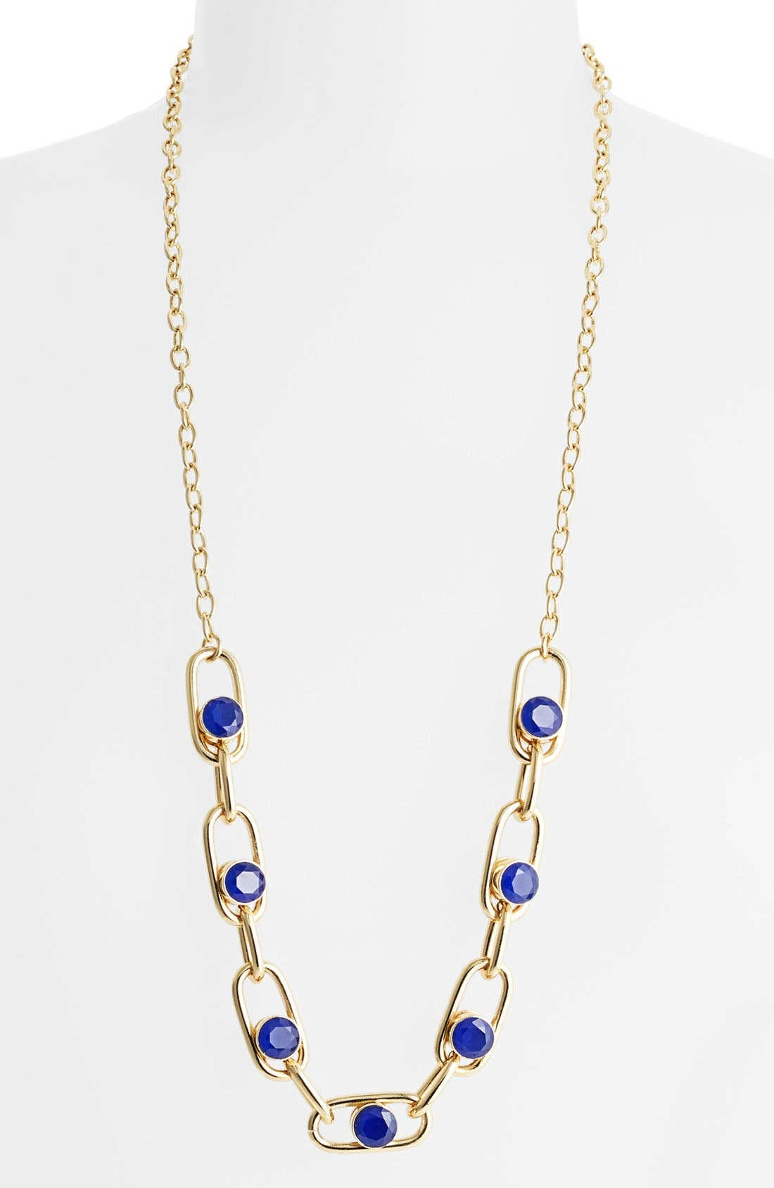 Main Image - kate spade new york 'get rolling' long link necklace